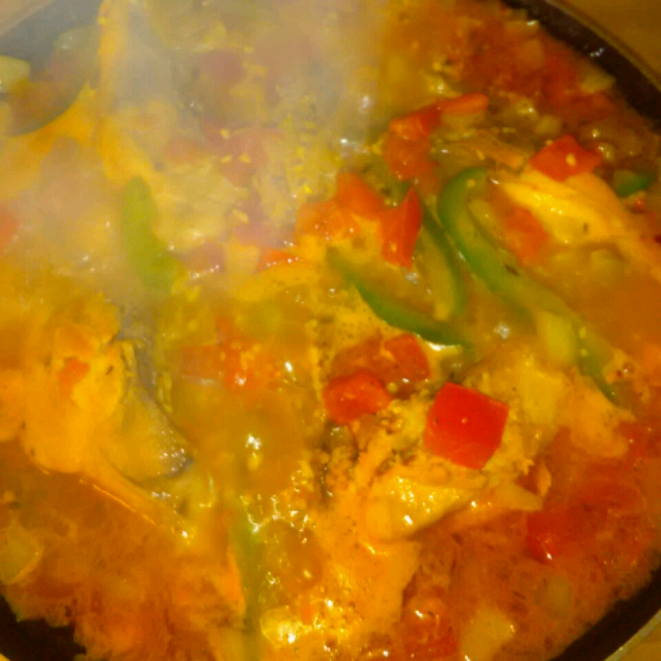 Jamaican Style Curry Chicken