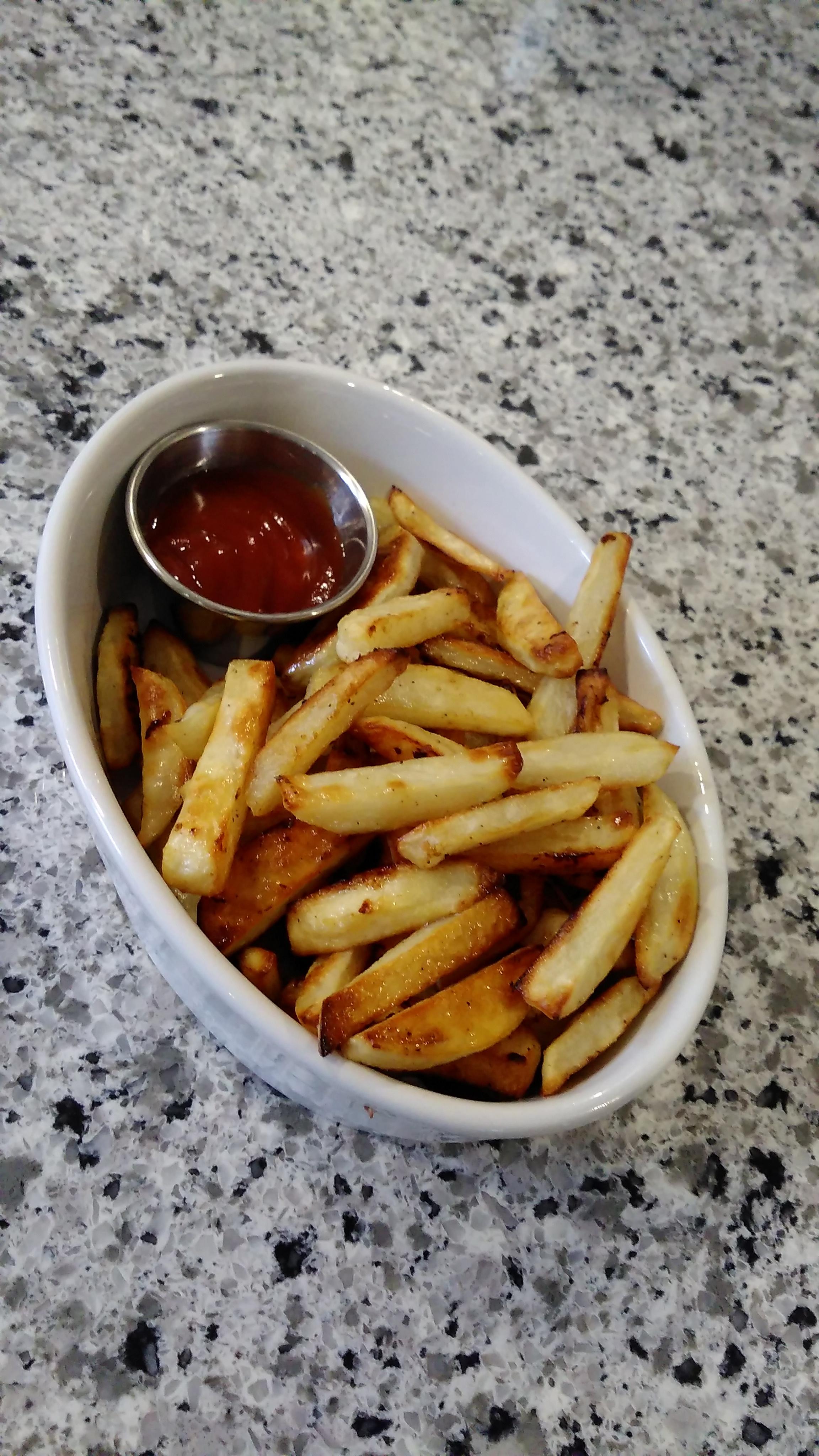 Oven Fries Barbara Harris