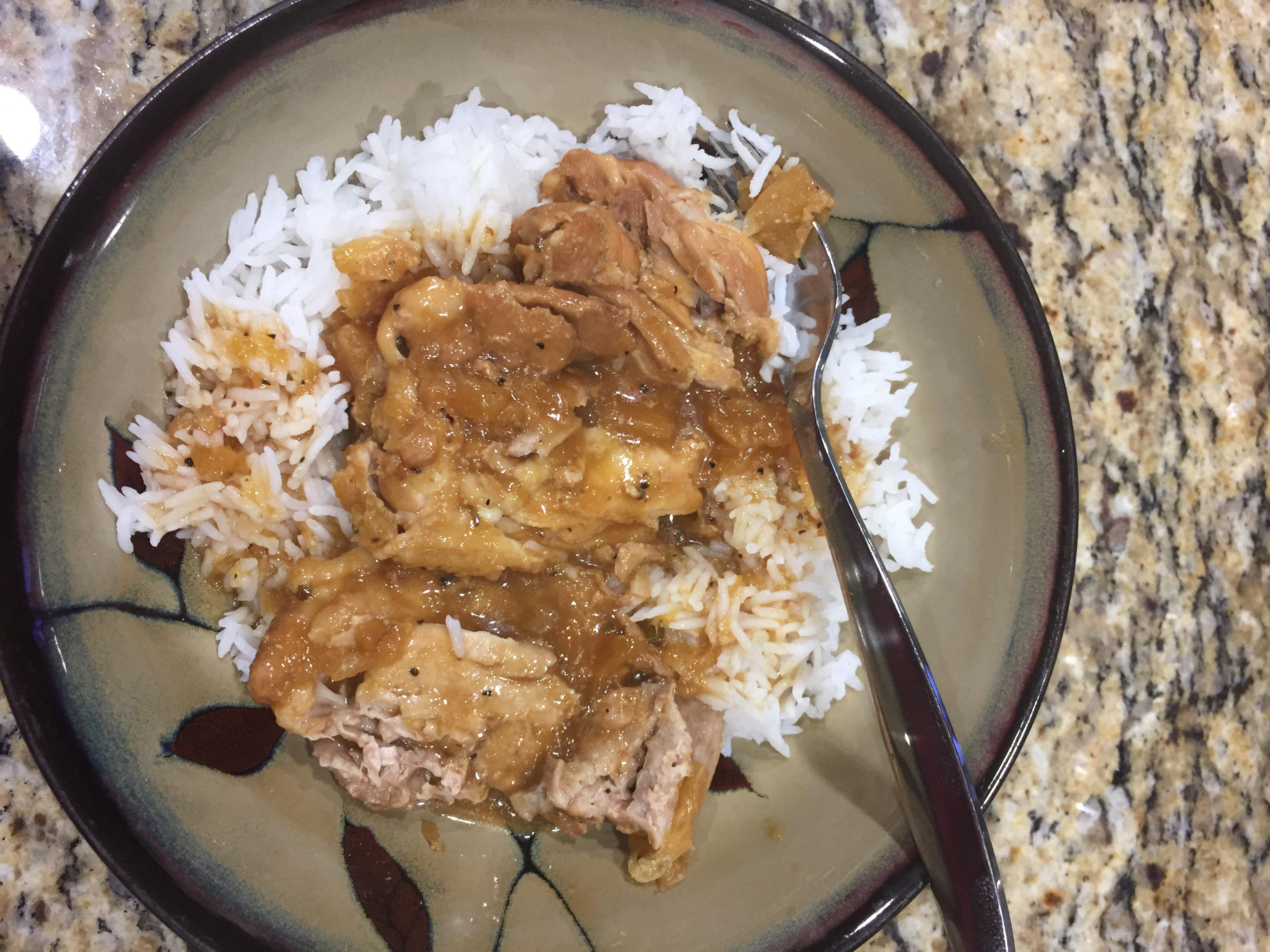 Pressure Cooker Teriyaki Chicken Jeurk Burk