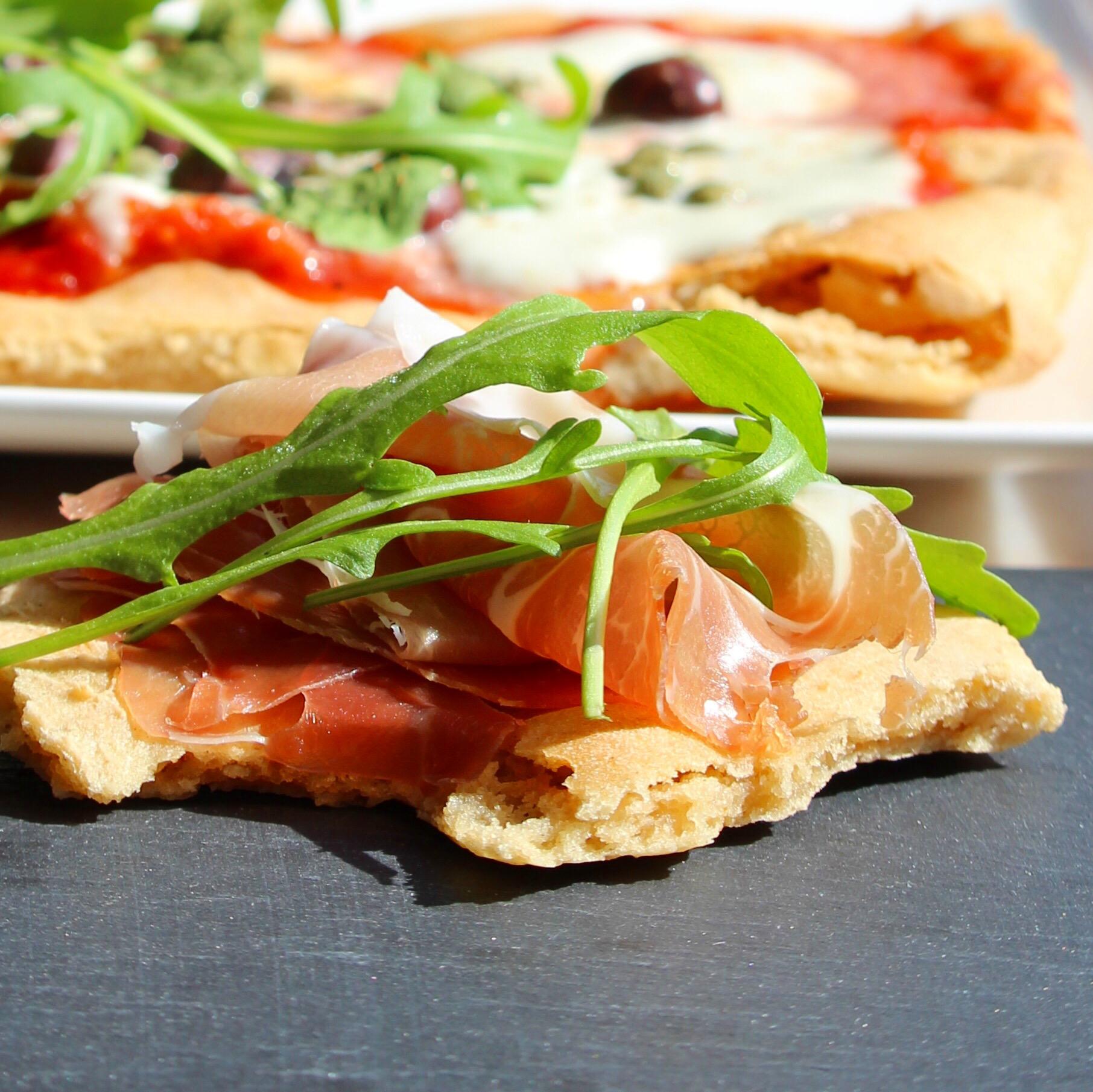 Gluten-Free Pizza Crust or Flatbread Buckwheat Queen