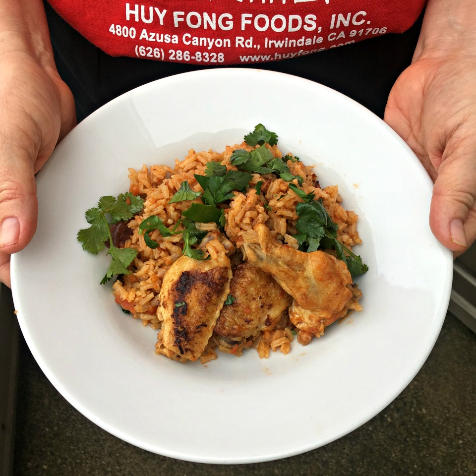 Chicken and Rice with Cumin and Cilantro Jacques Pepin