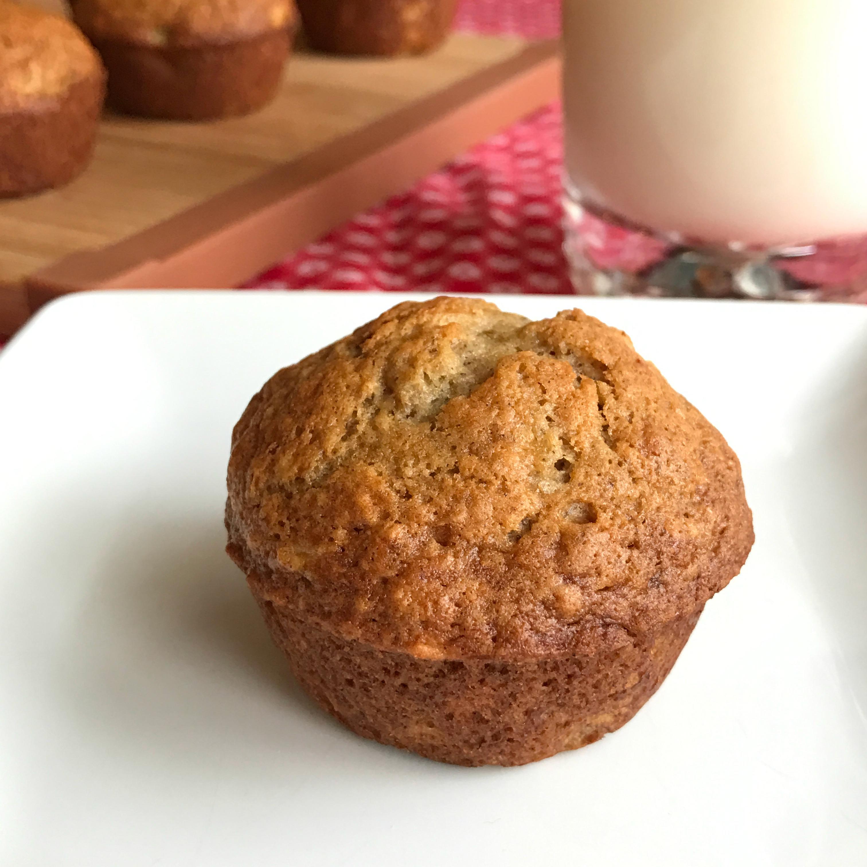 Ultimate Banana Muffins Happyschmoopies