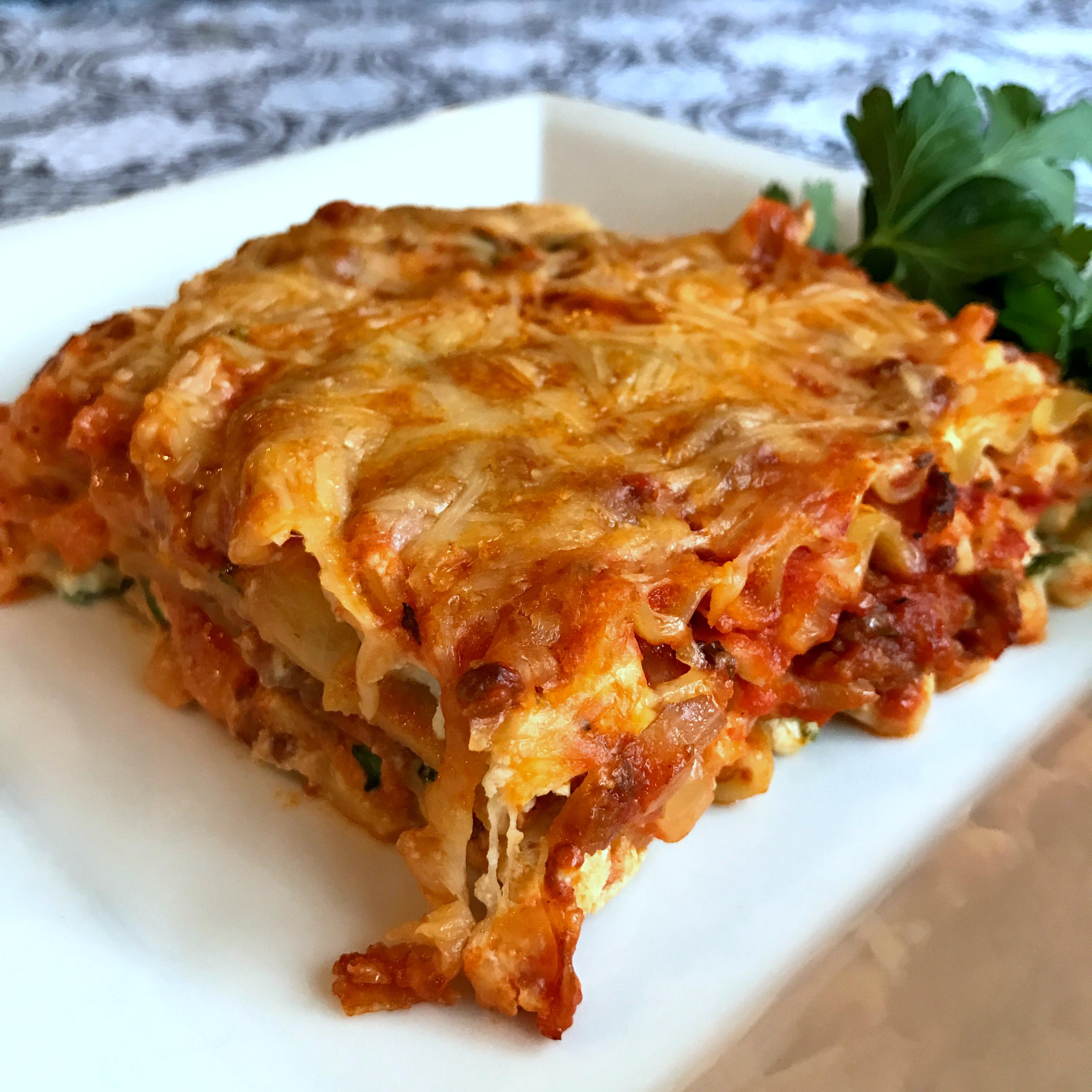 Johnsonville® Italian Sausage Lasagna Happyschmoopies