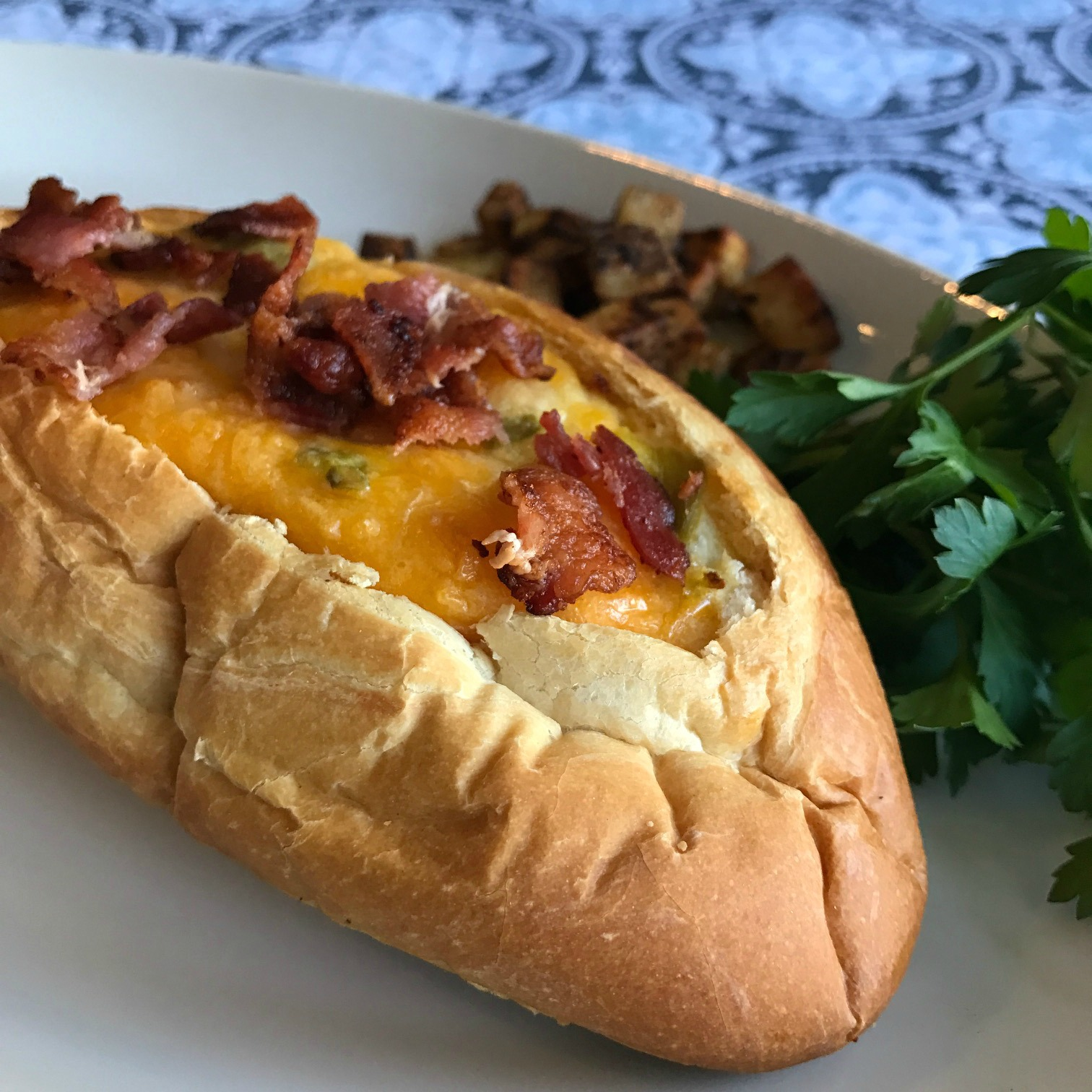 Southwest Egg and Cheese Boats Happyschmoopies