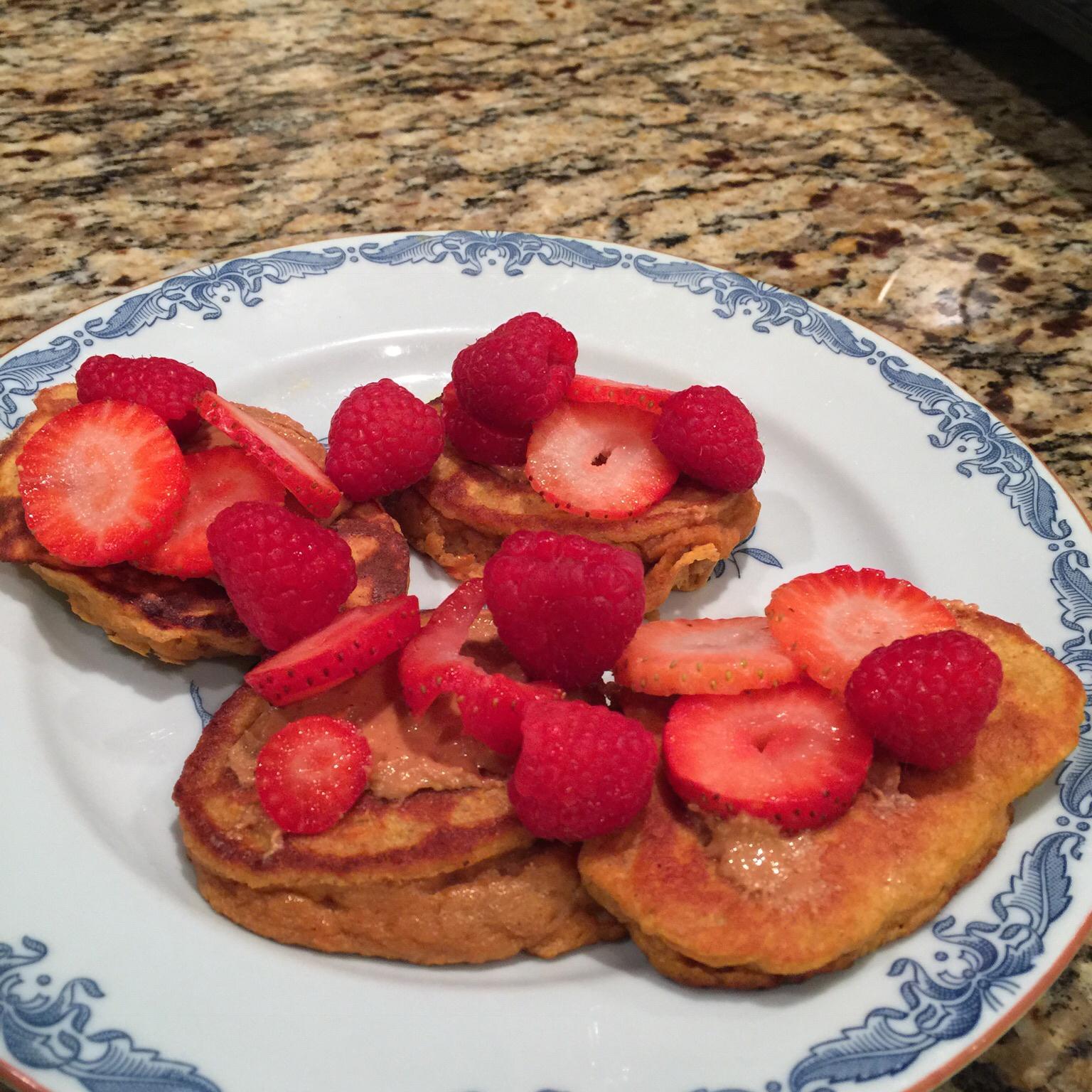 Sweet Potato and Banana Pancakes Janice Lofgren