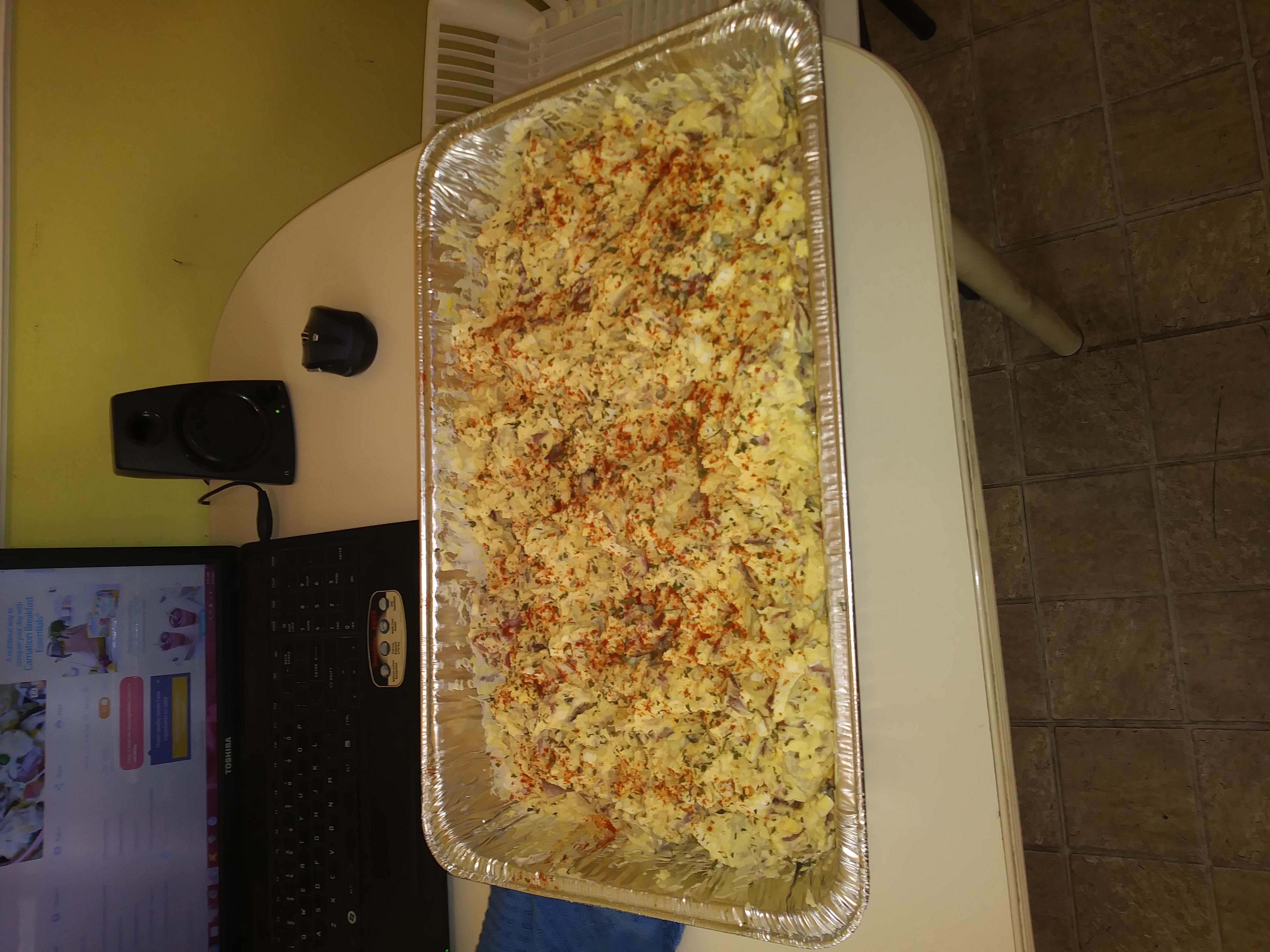 Bacon and Eggs Potato Salad