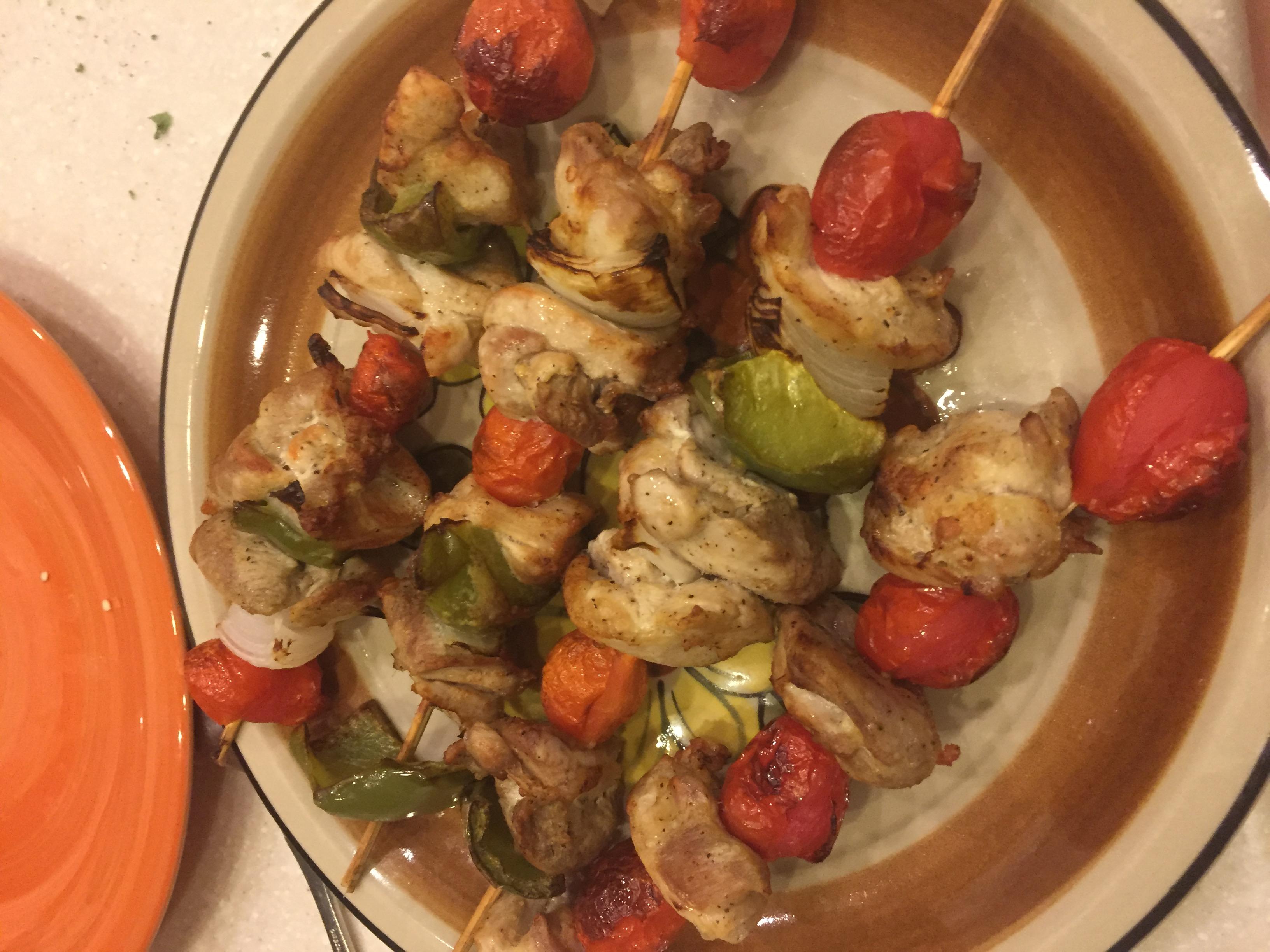 Greek Island Chicken Shish Kebabs Natasha383