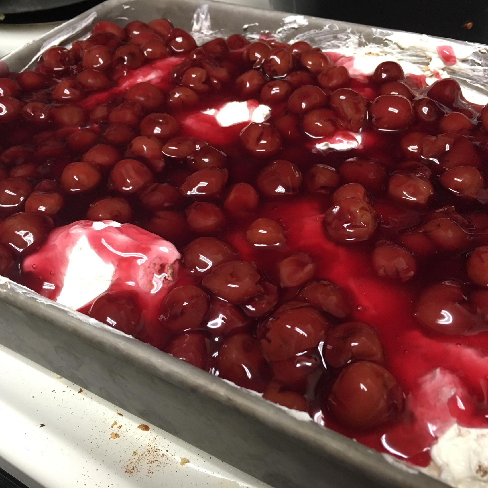 Cherries in the Snow Cake II