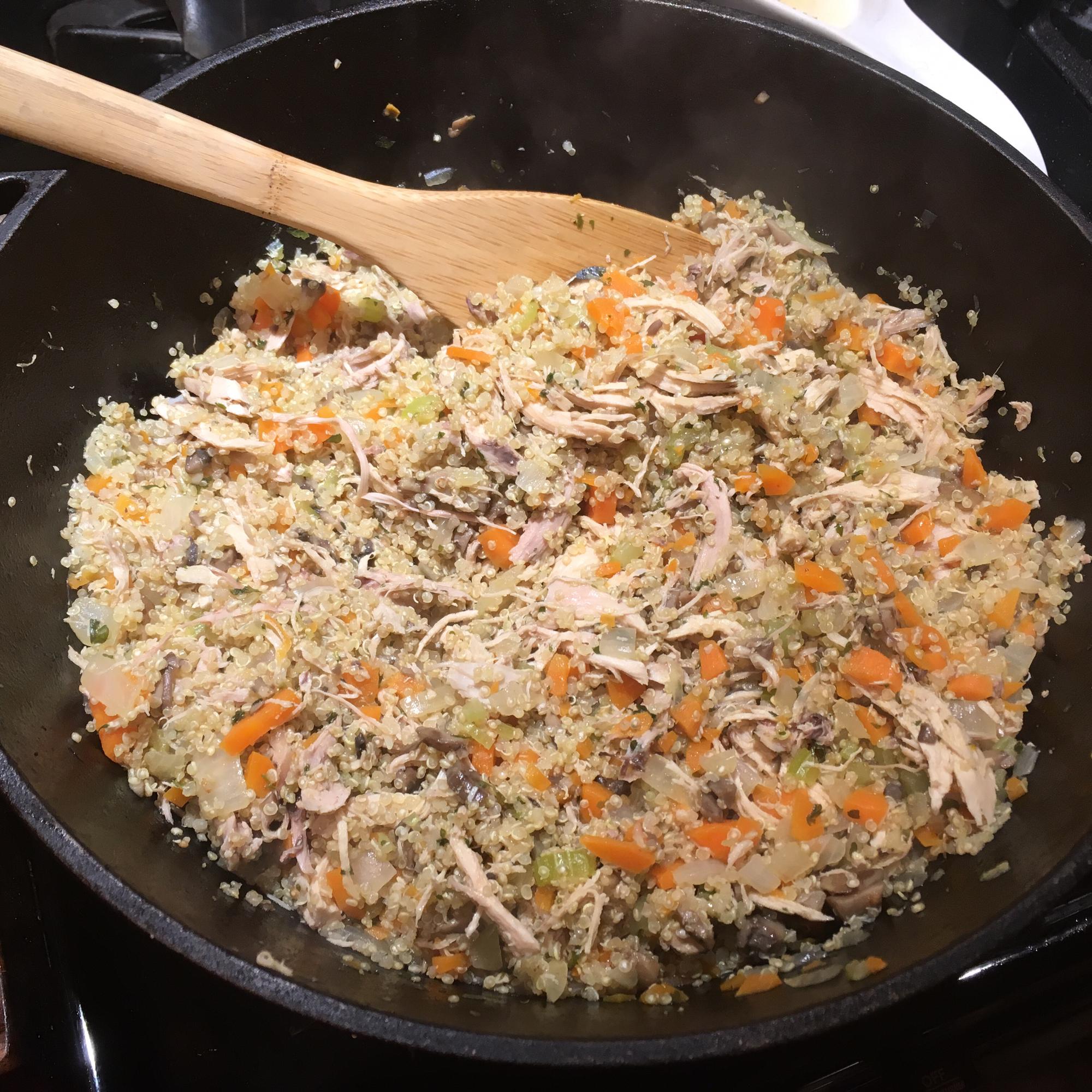 Chicken Quinoa abruley