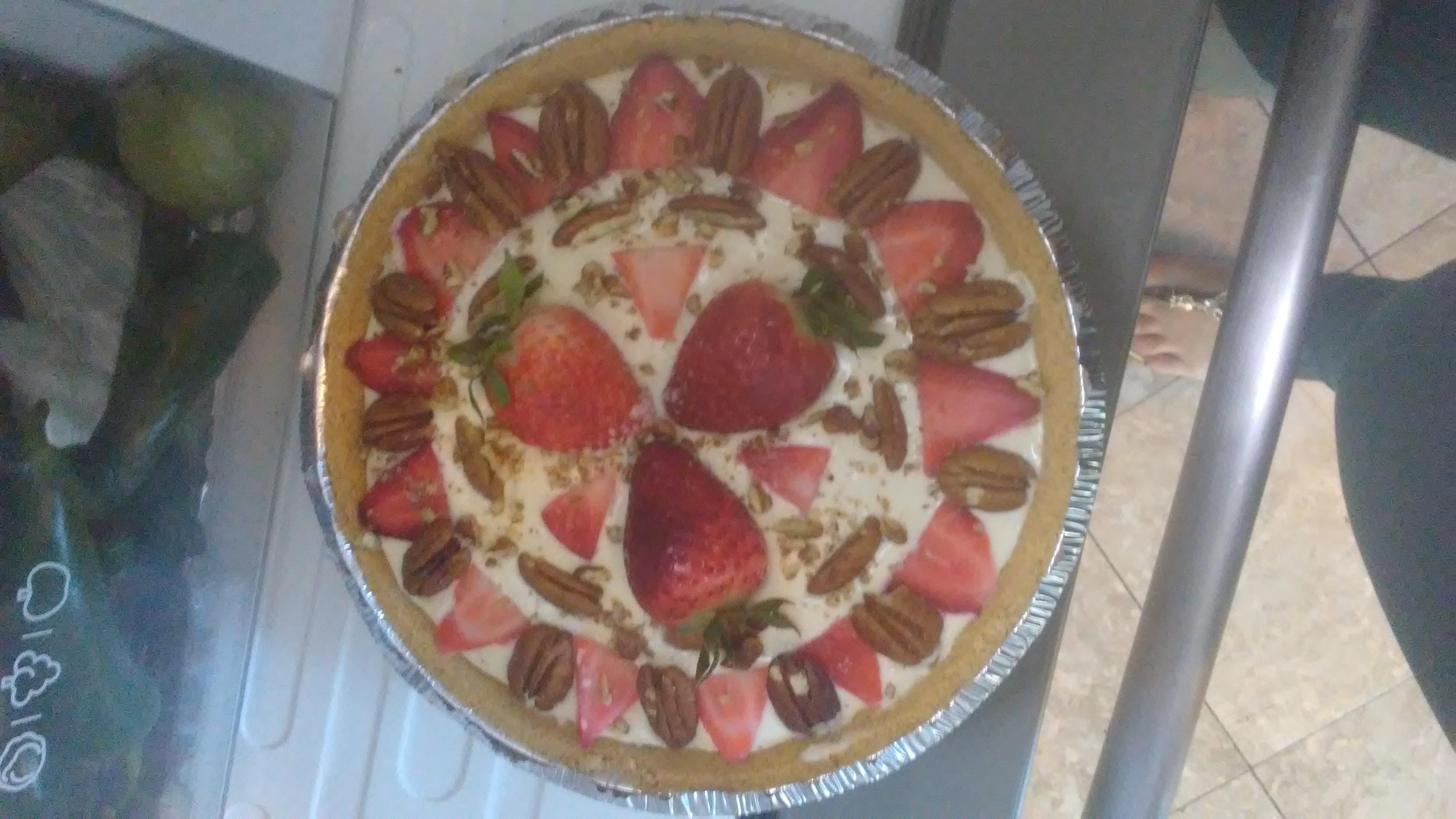 No Bake Sugar Free Strawberry Cheesecake Lisbeth42138