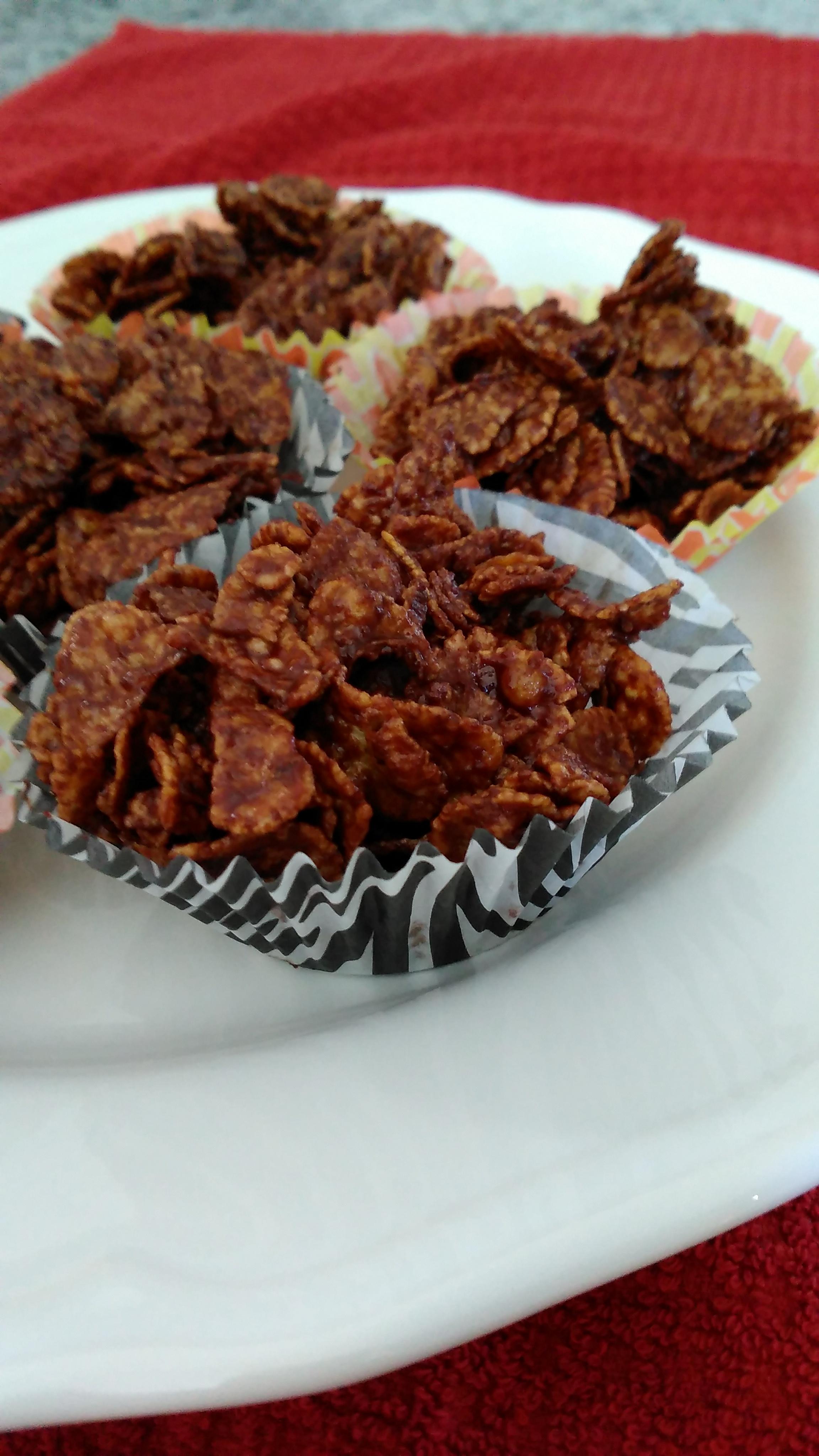 Chocolate Cornflake Cupcakes BakingMachine