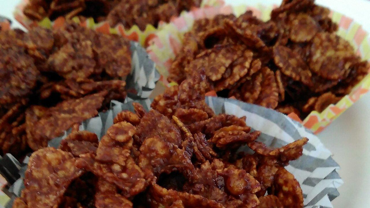 Chocolate Cornflake Cupcakes