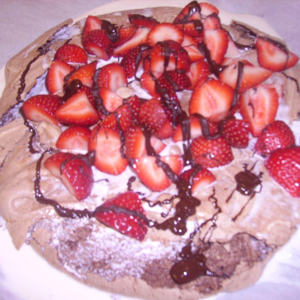 Chocolate Pavlova Julia