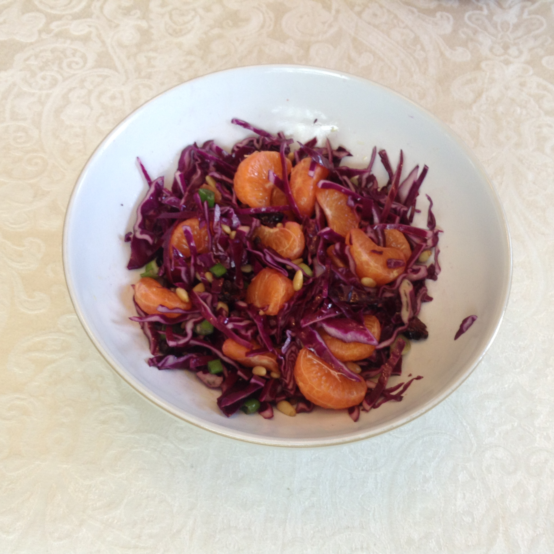 Purple Cabbage Salad Army Wife