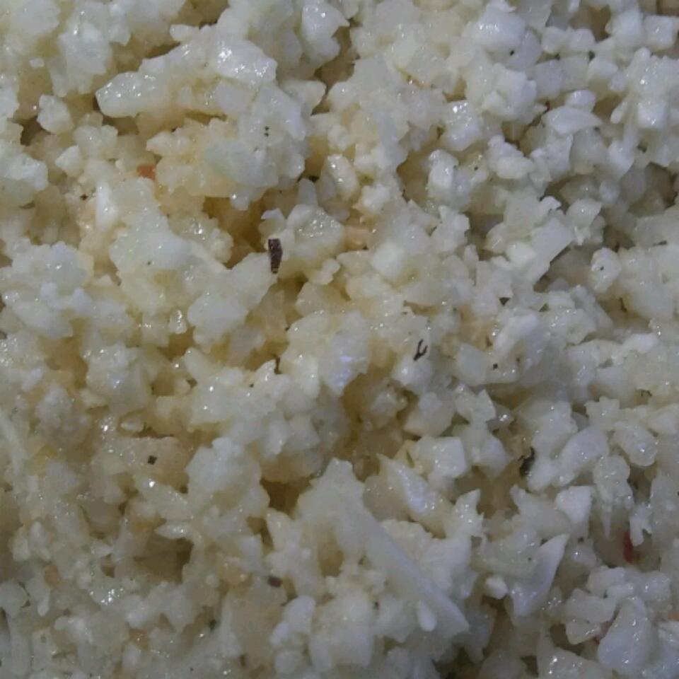 Riced Cauliflower