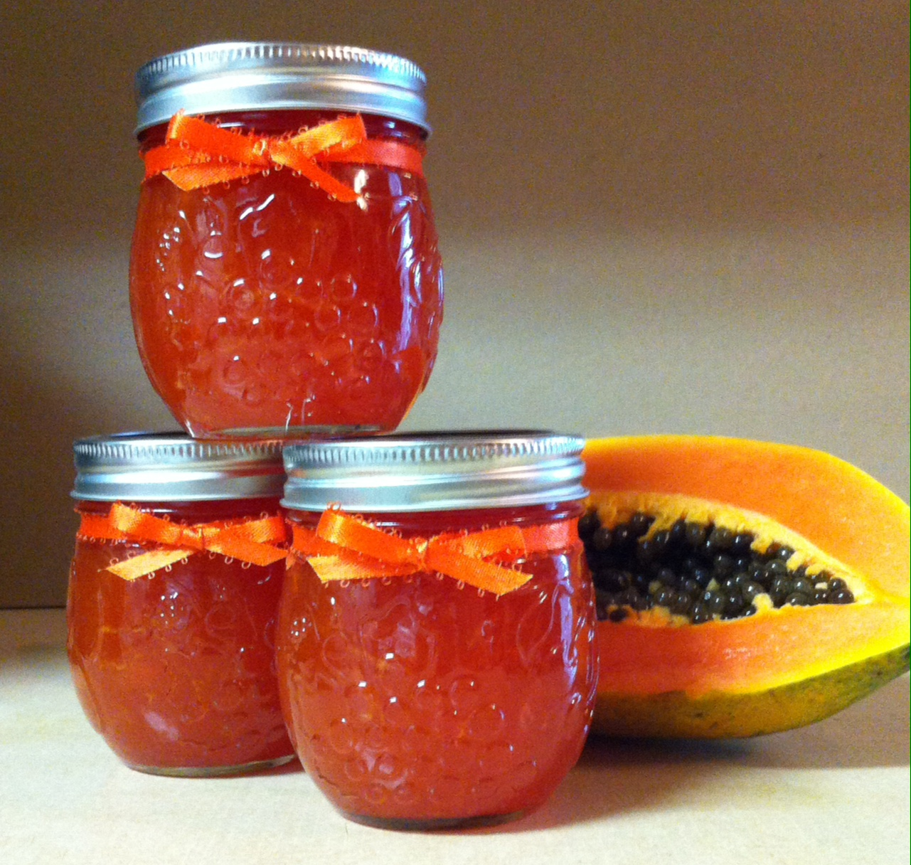 Fresh Papaya Jam Jean Daniels