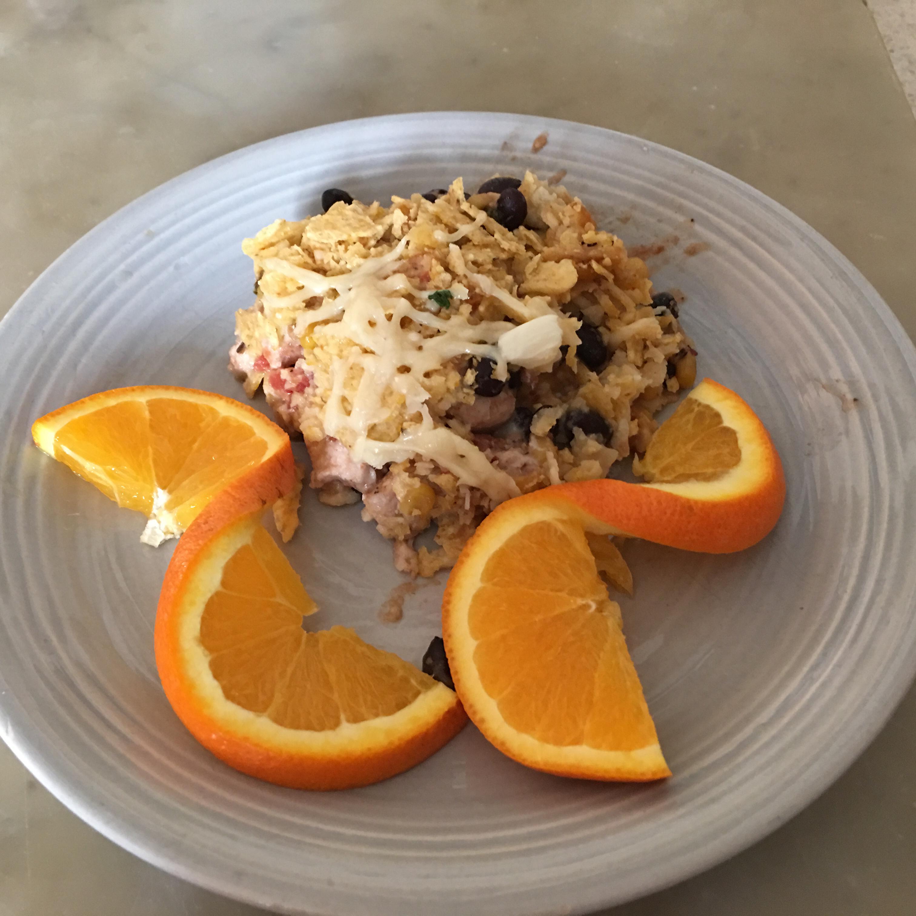 Chicken-Black Bean Casserole Kidcook