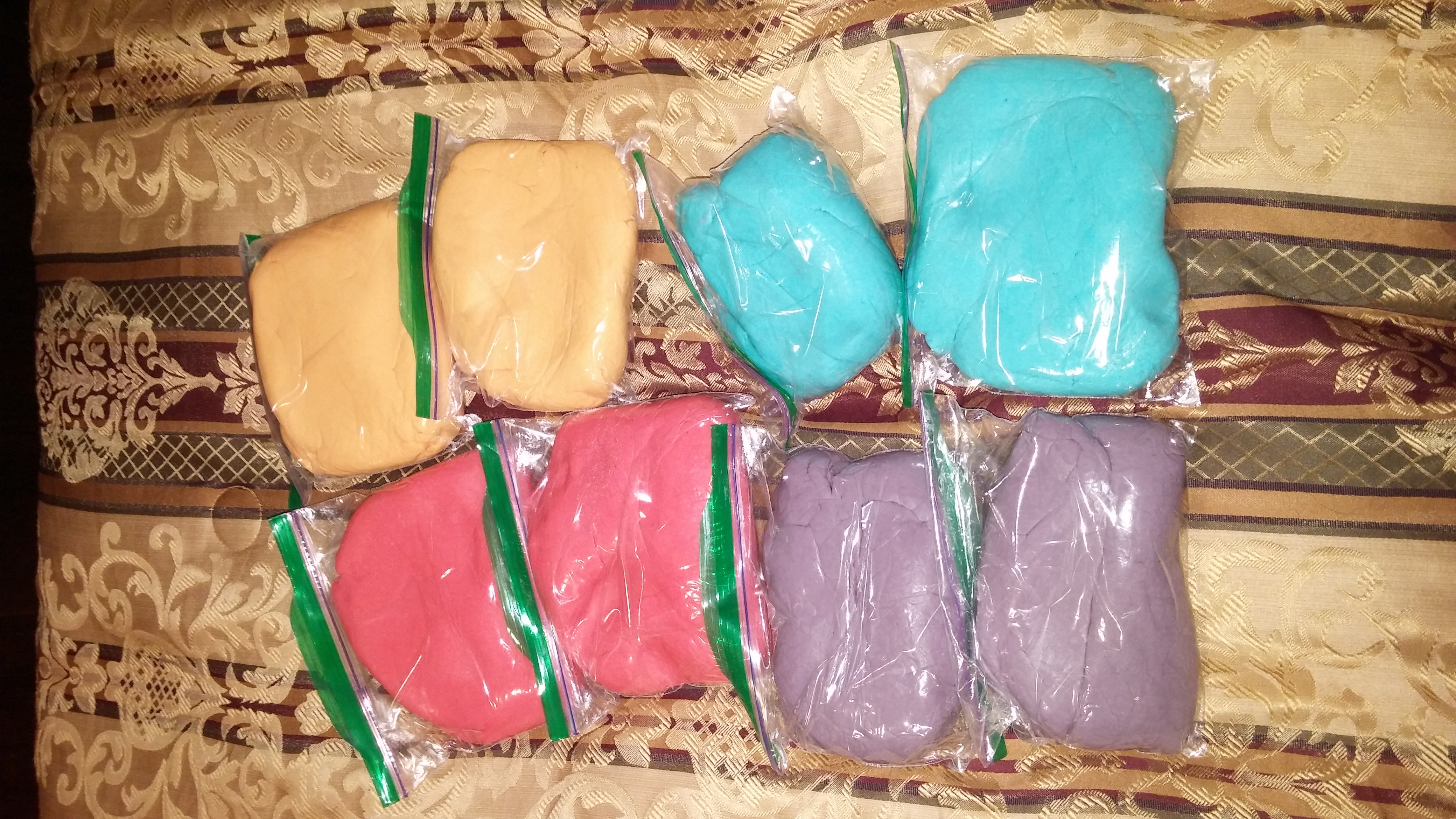 Colorful and Edible Play Dough Angel Baxter2015
