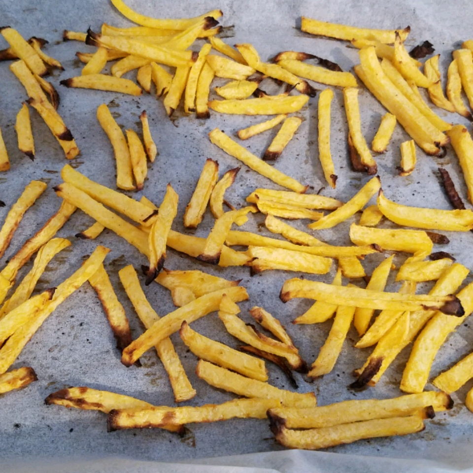 Rutabaga Oven Fries ANGELA JUSTICE