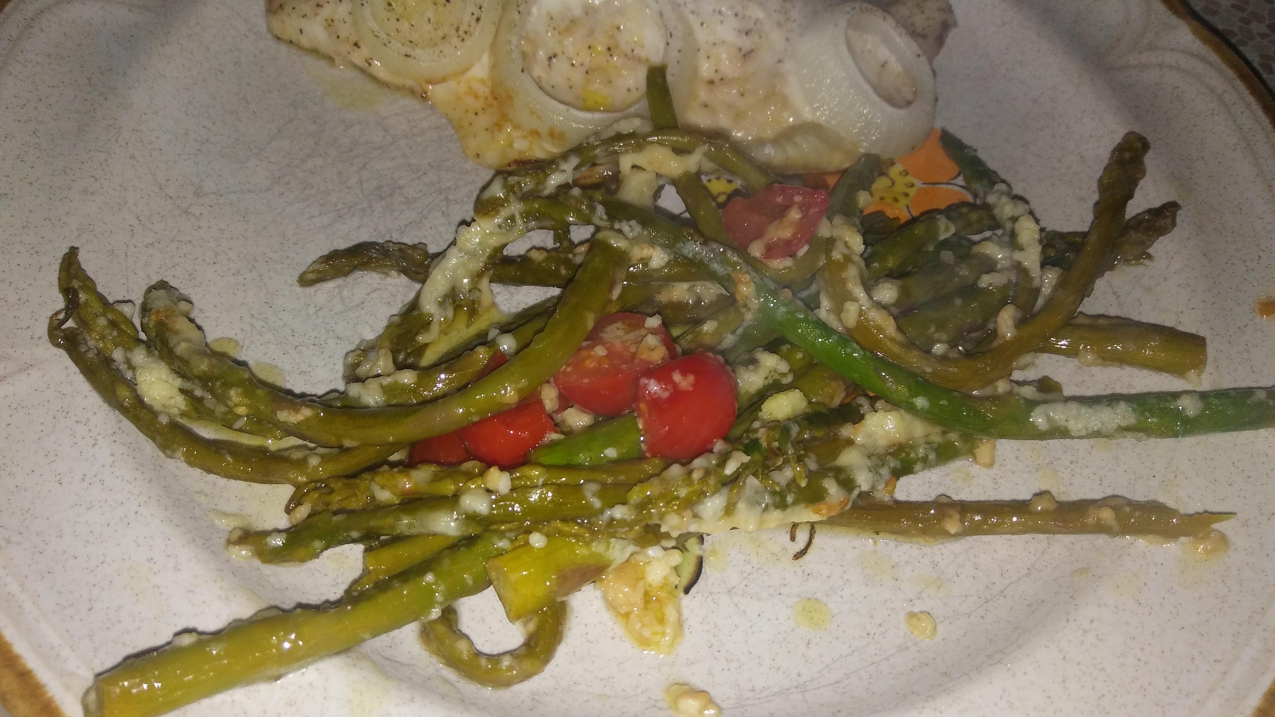 Asparagus Side Dish Lindsay Jo Bell