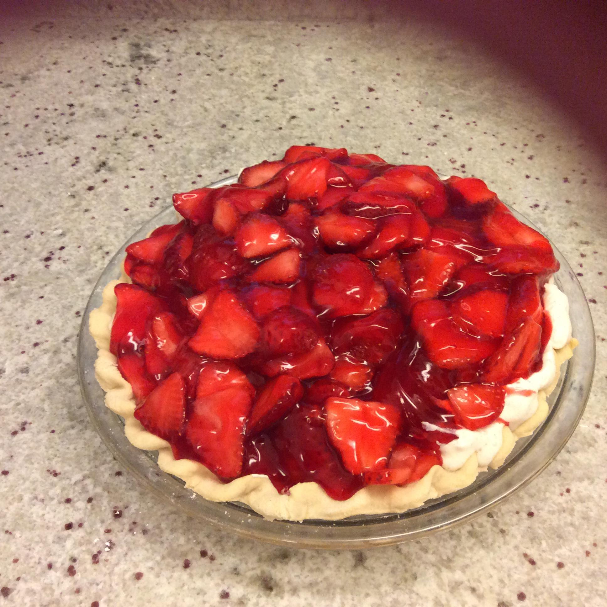 Strawberry Cream Pie To Die For Claudia