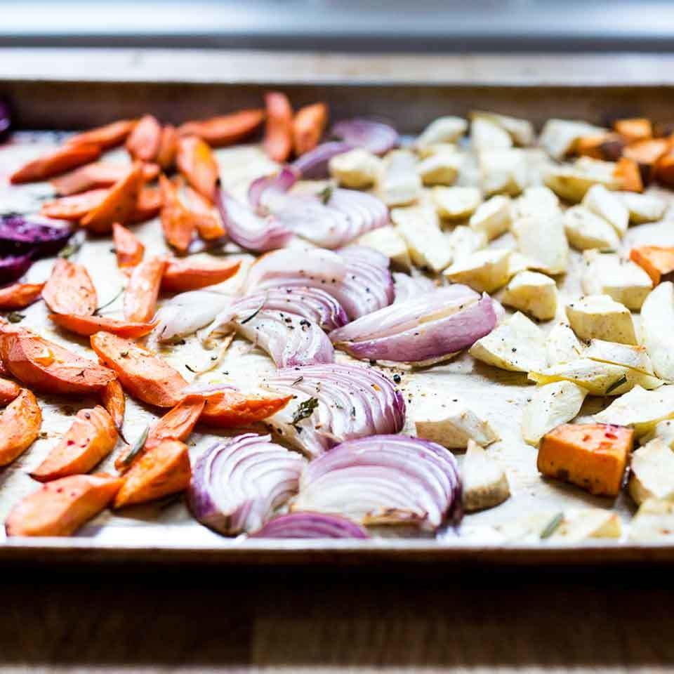 Sheet-Pan Roasted Root Vegetables Trusted Brands