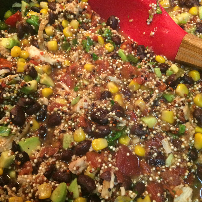 One Skillet Mexican Quinoa Ashlyn Mancuso
