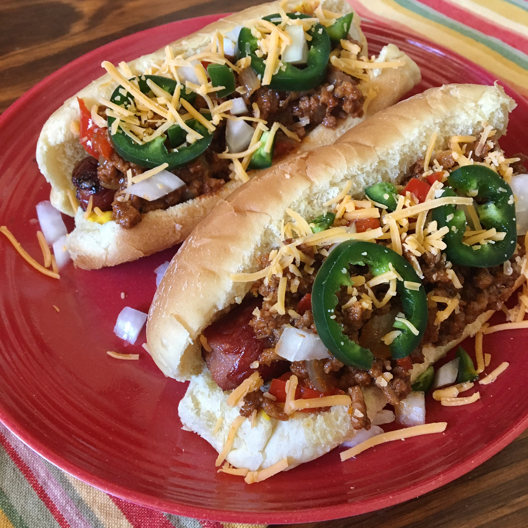 Texas Chili Dog Staci