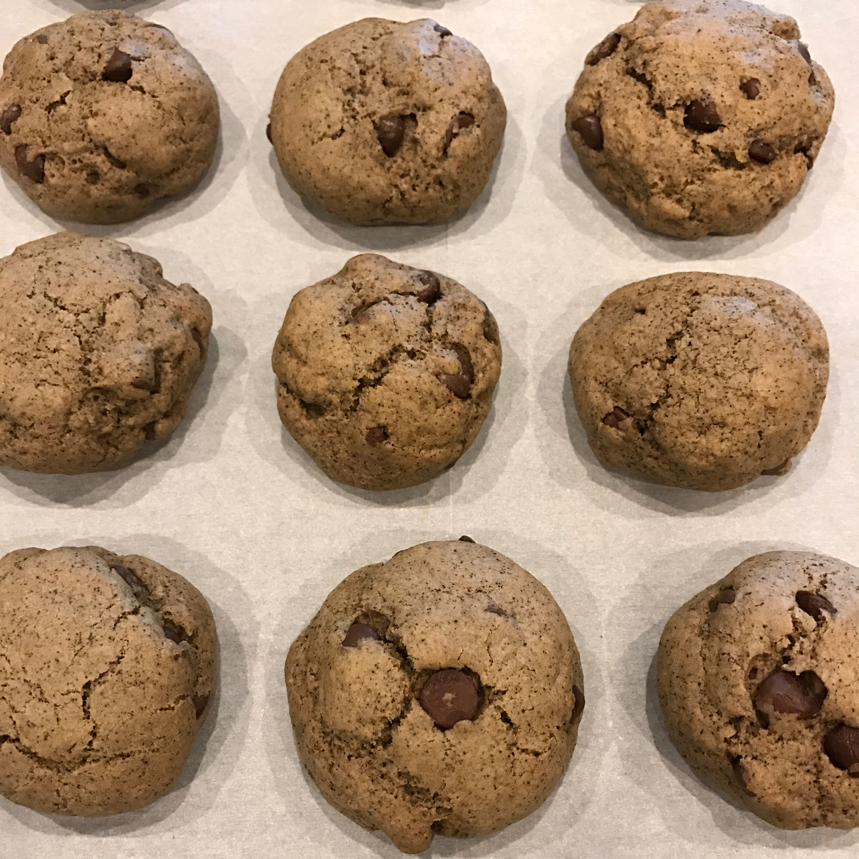 Coffee Chocolate Chip Cookies Vee