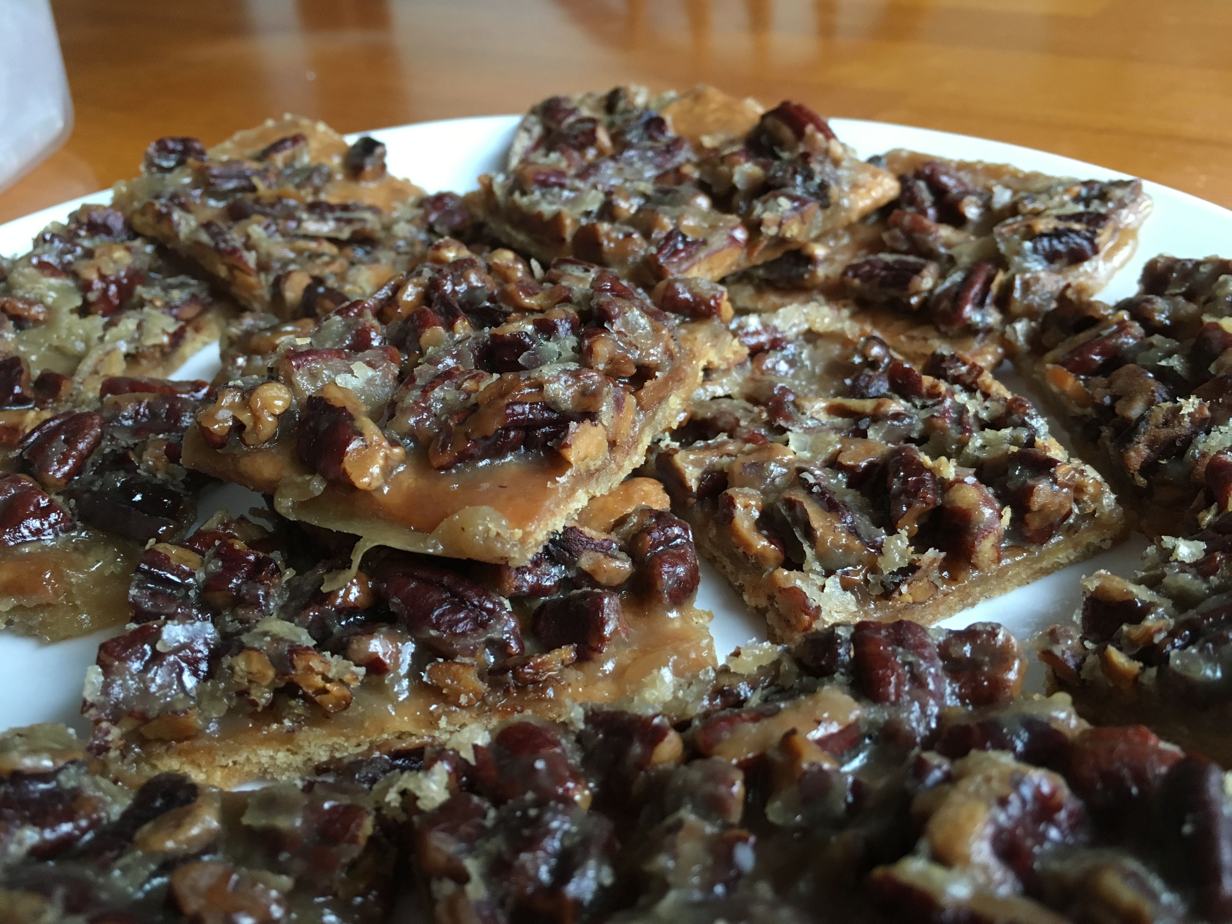 """""""SOOOOO good! I can't stop eating them,"""" raves Janice Timmins. """"And when I'm not eating them, I'm thinking about eating them. I doubled the pecans as recommended by others."""""""