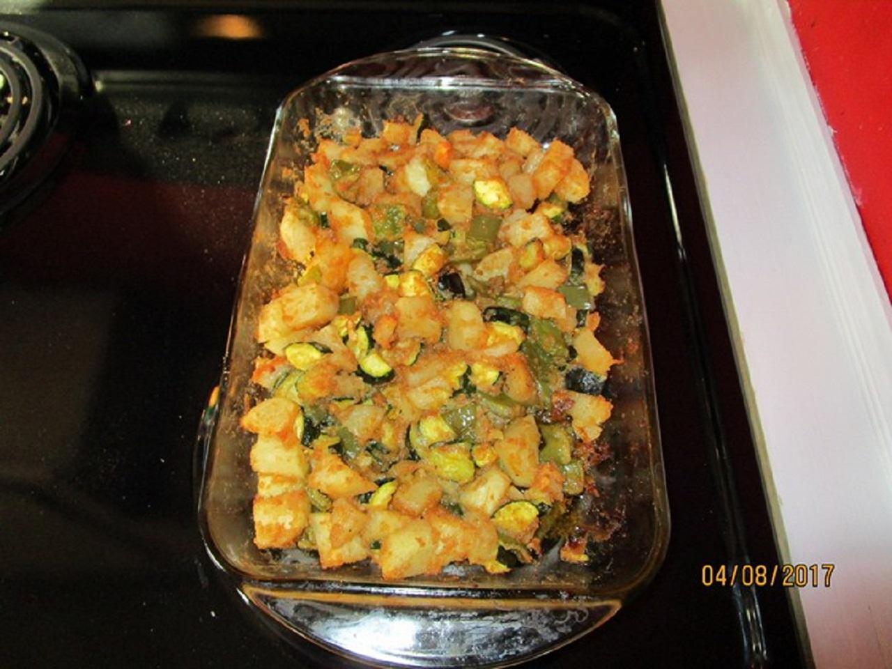 Zucchini and Potato Bake