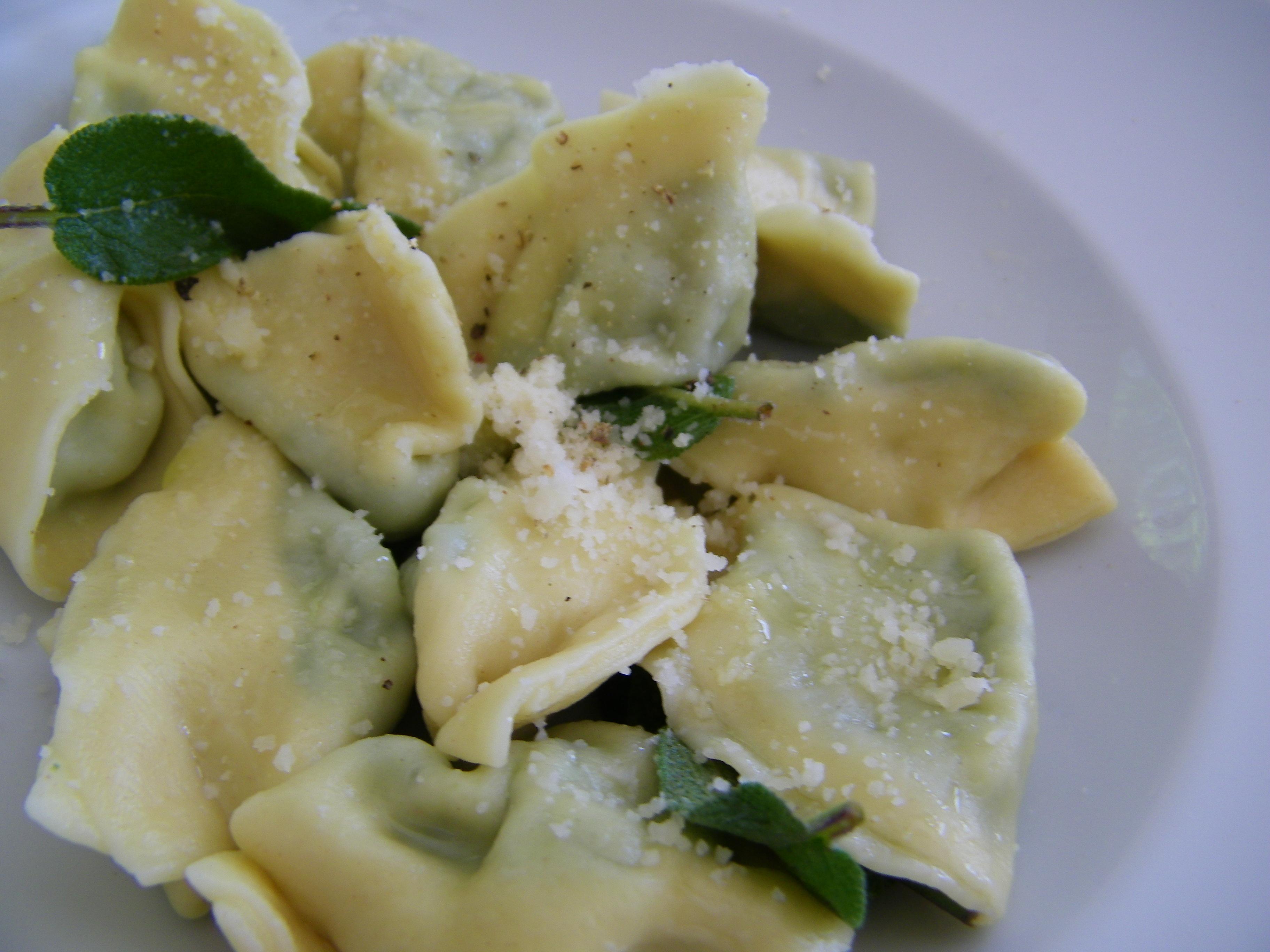 Spinach and Ricotta Tortellini catherine.drew