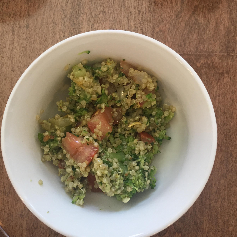 Parsley Walnut Pesto Quinoa Salad ali