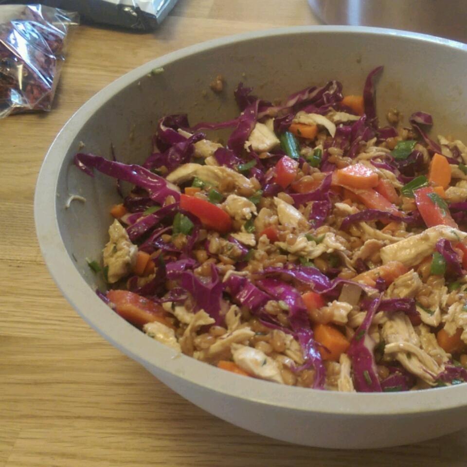 Spicy Chicken and Spelt Salad Erik G. Buchberger