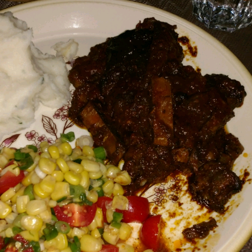 Slow Cooker Barbequed Beef Ribs Shafin Damani