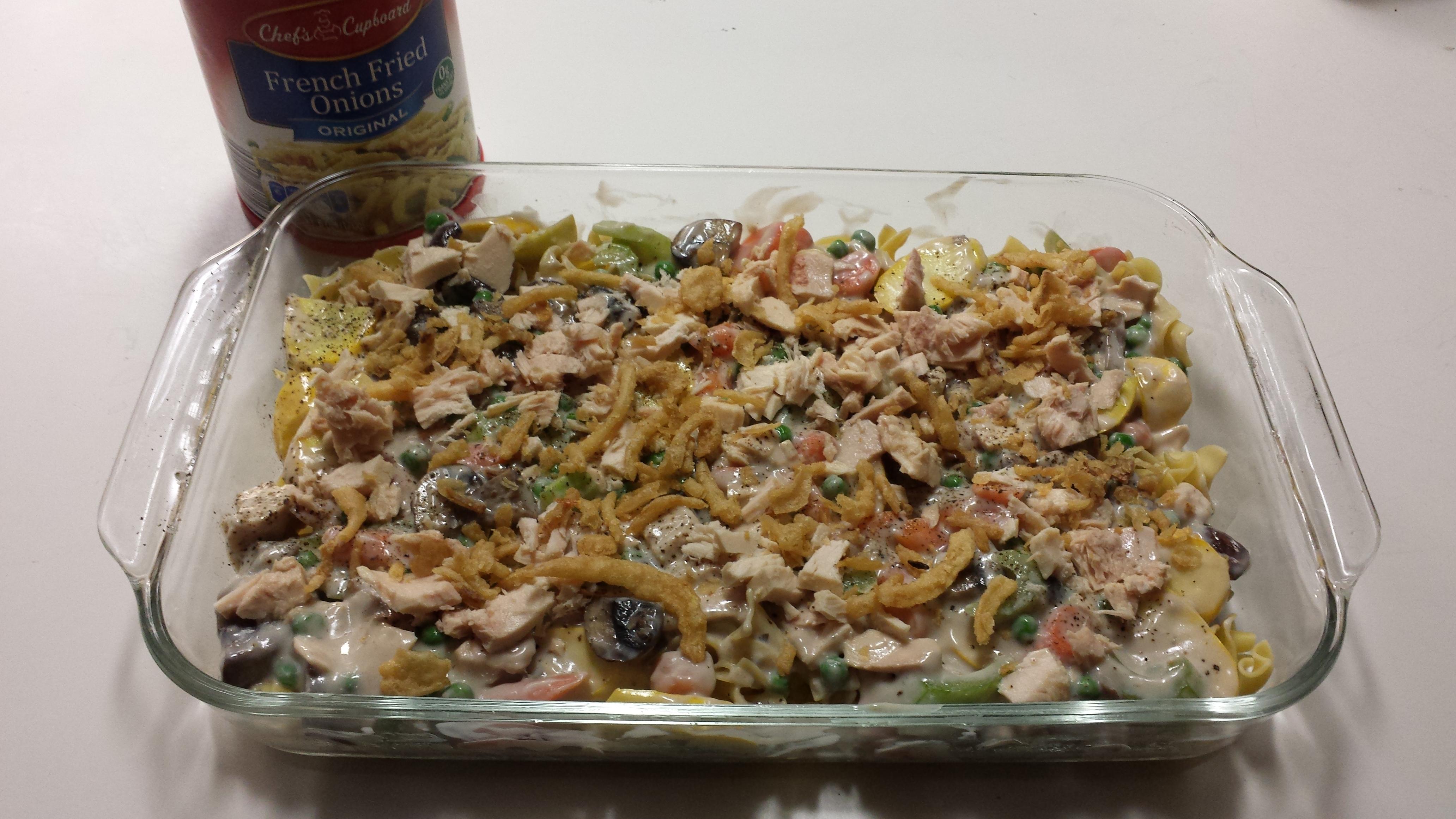 Tuna and Vegetable Casserole James