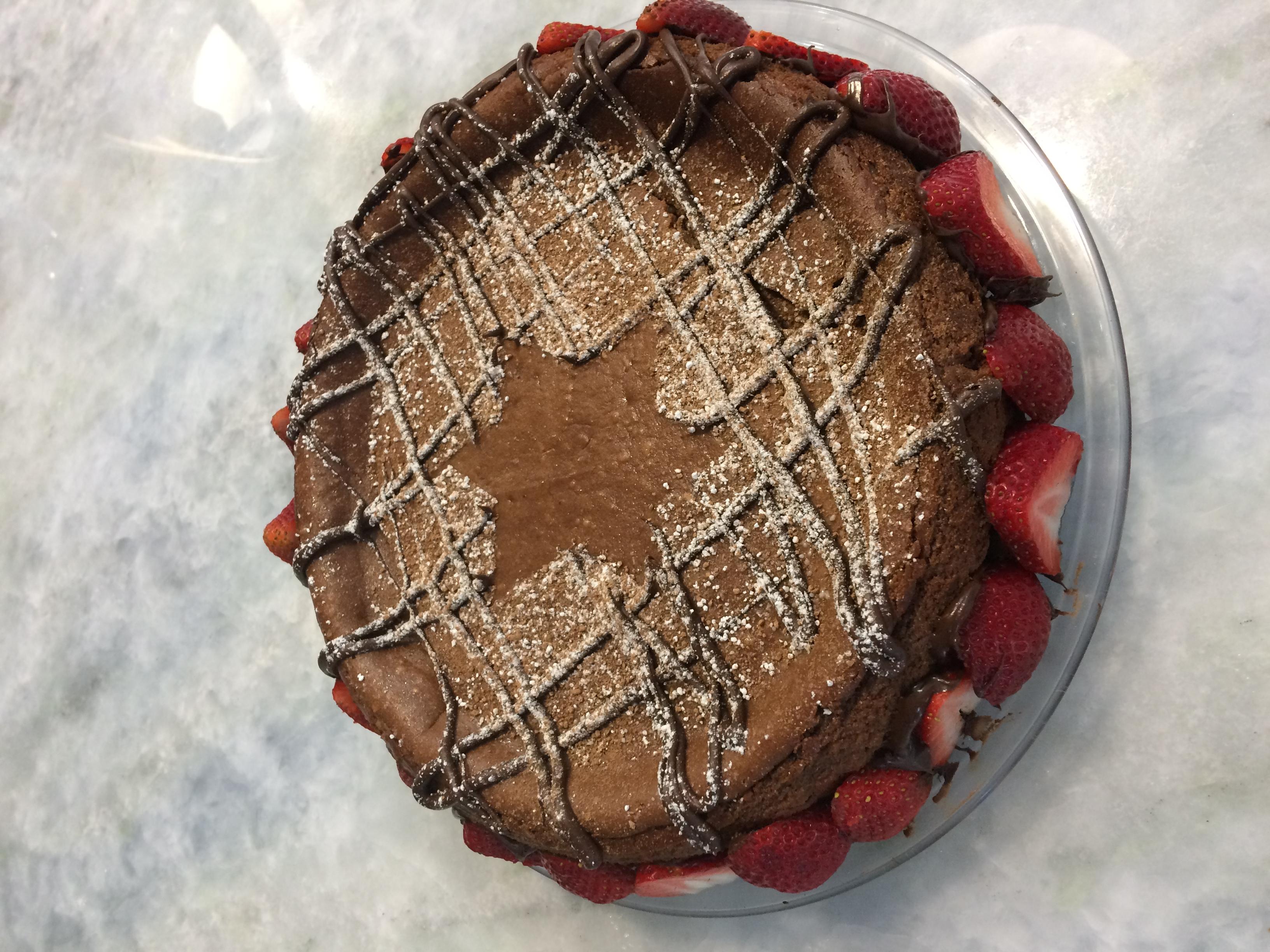 Passover Chocolate Cheesecake alliesteinz