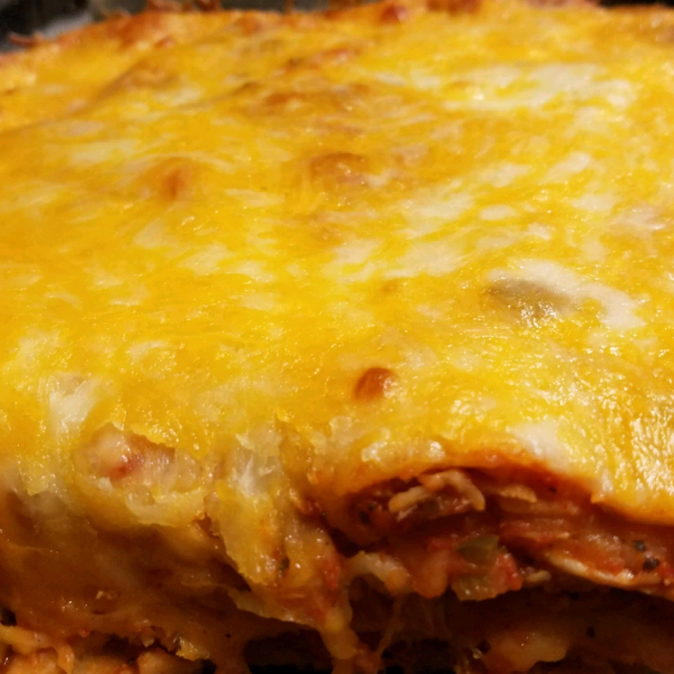 Southwestern Chicken Lasagna Norma Martinez