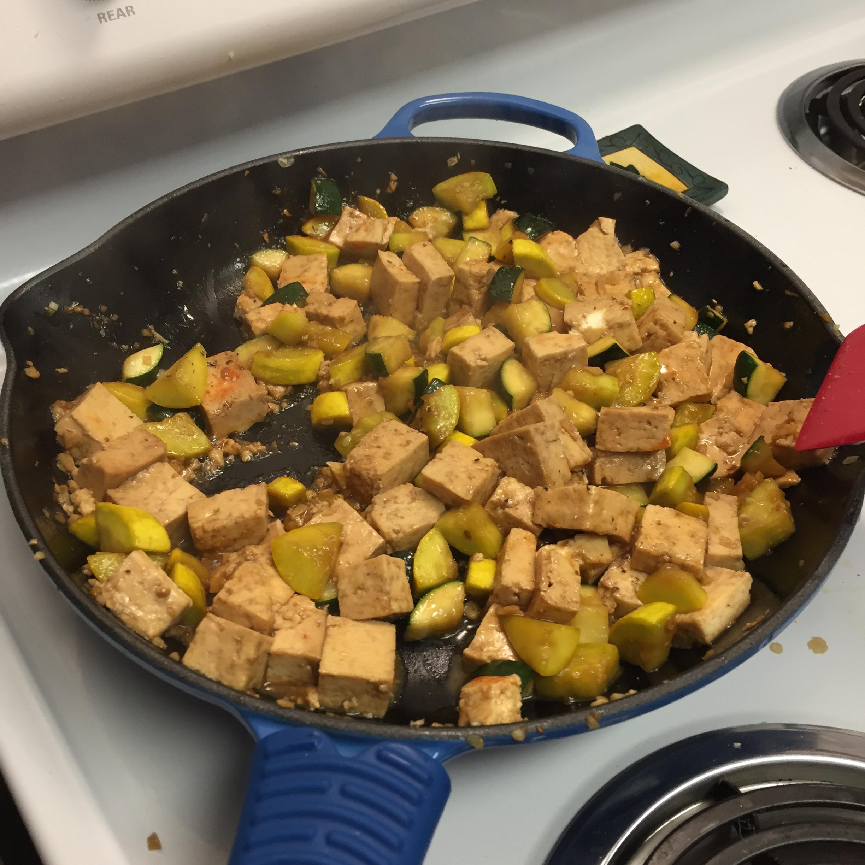 Yellow Squash and Tofu Stir Fry Mojo Theeepwood