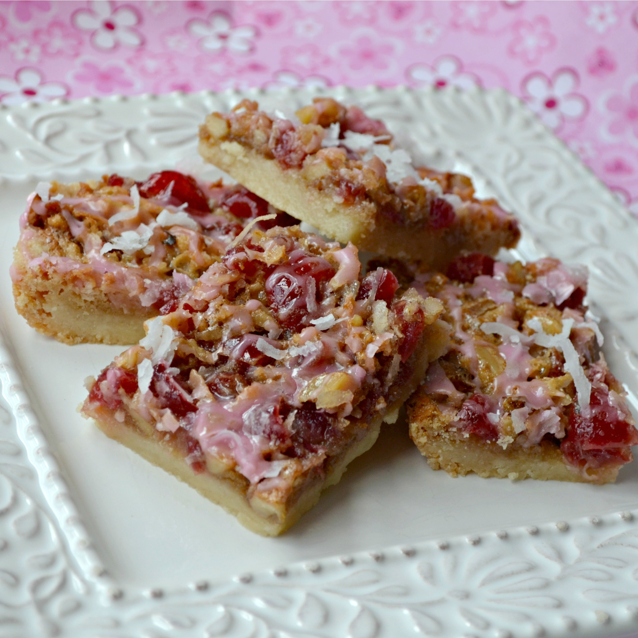 Cherry Walnut Bars Roxanne