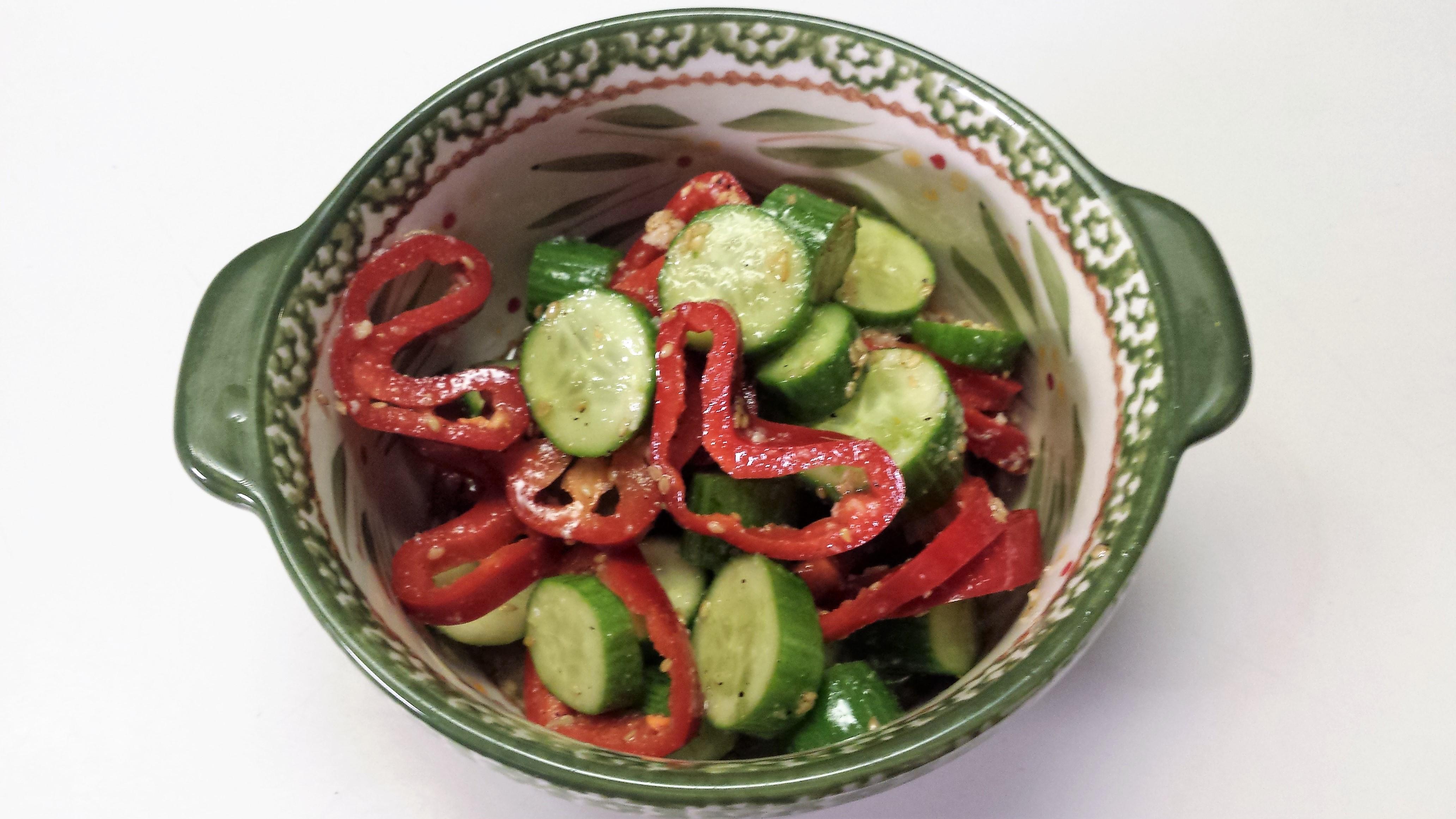 Asian Cucumber Salad James