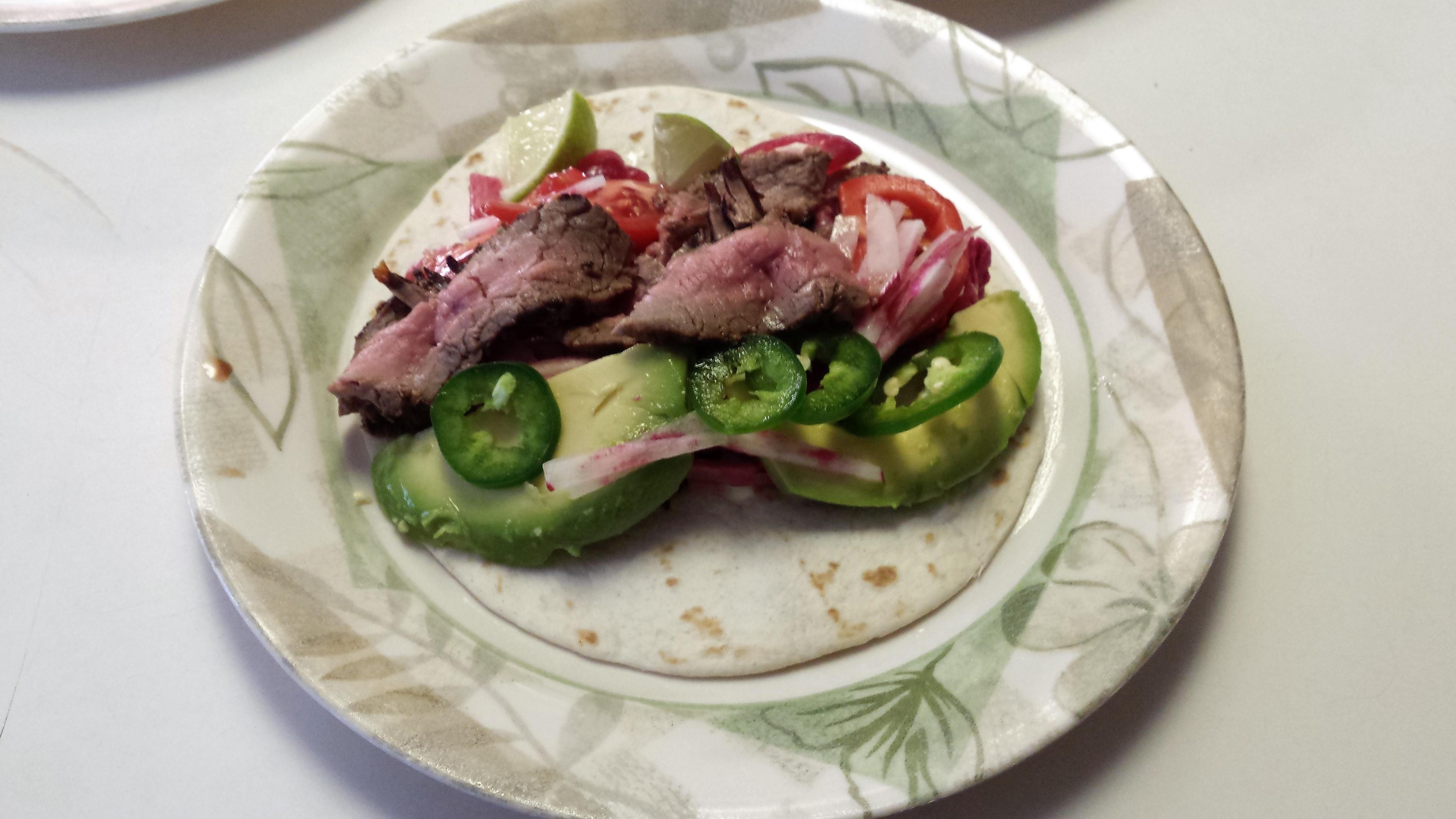 Steak Taco James