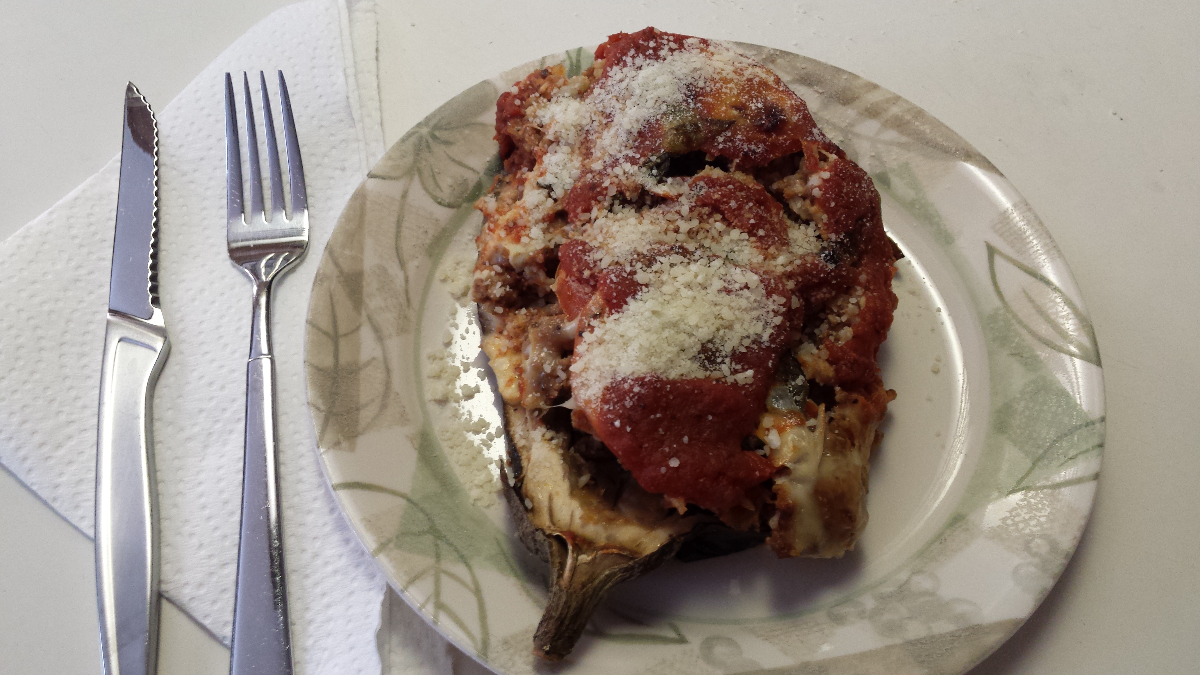 Baked Eggplant with Ground Beef James