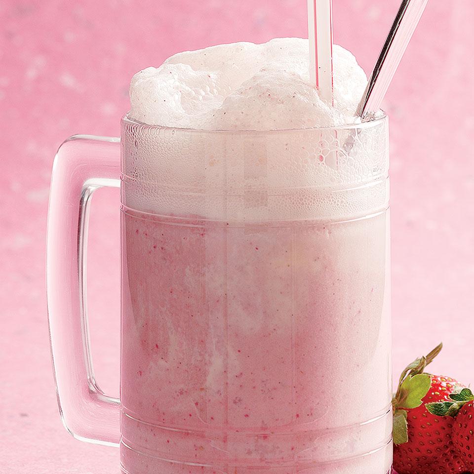 Strawberry Ice Cream Soda Ruth Cousineau