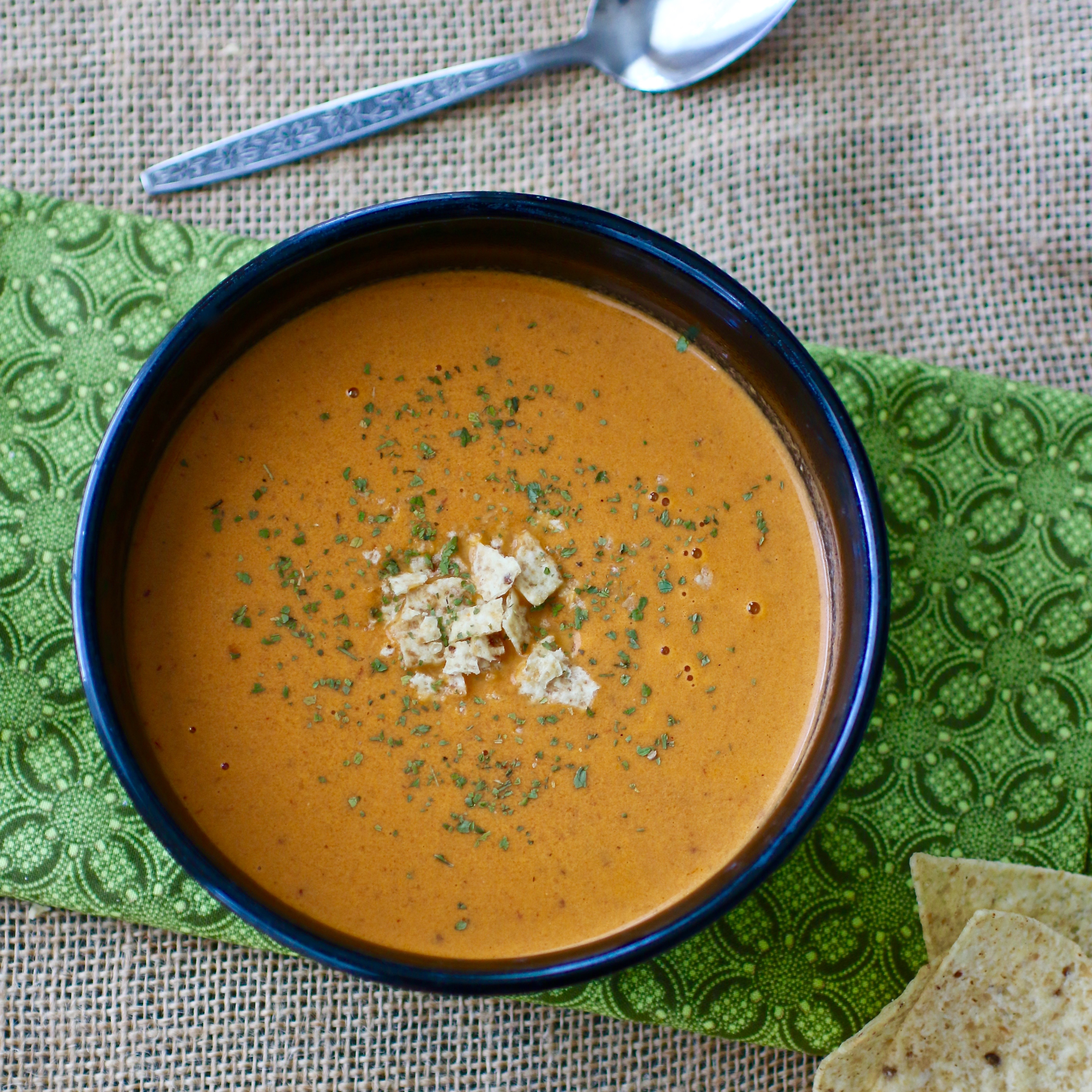 Creamy Chipotle Tomato Bisque My Hot Southern Mess