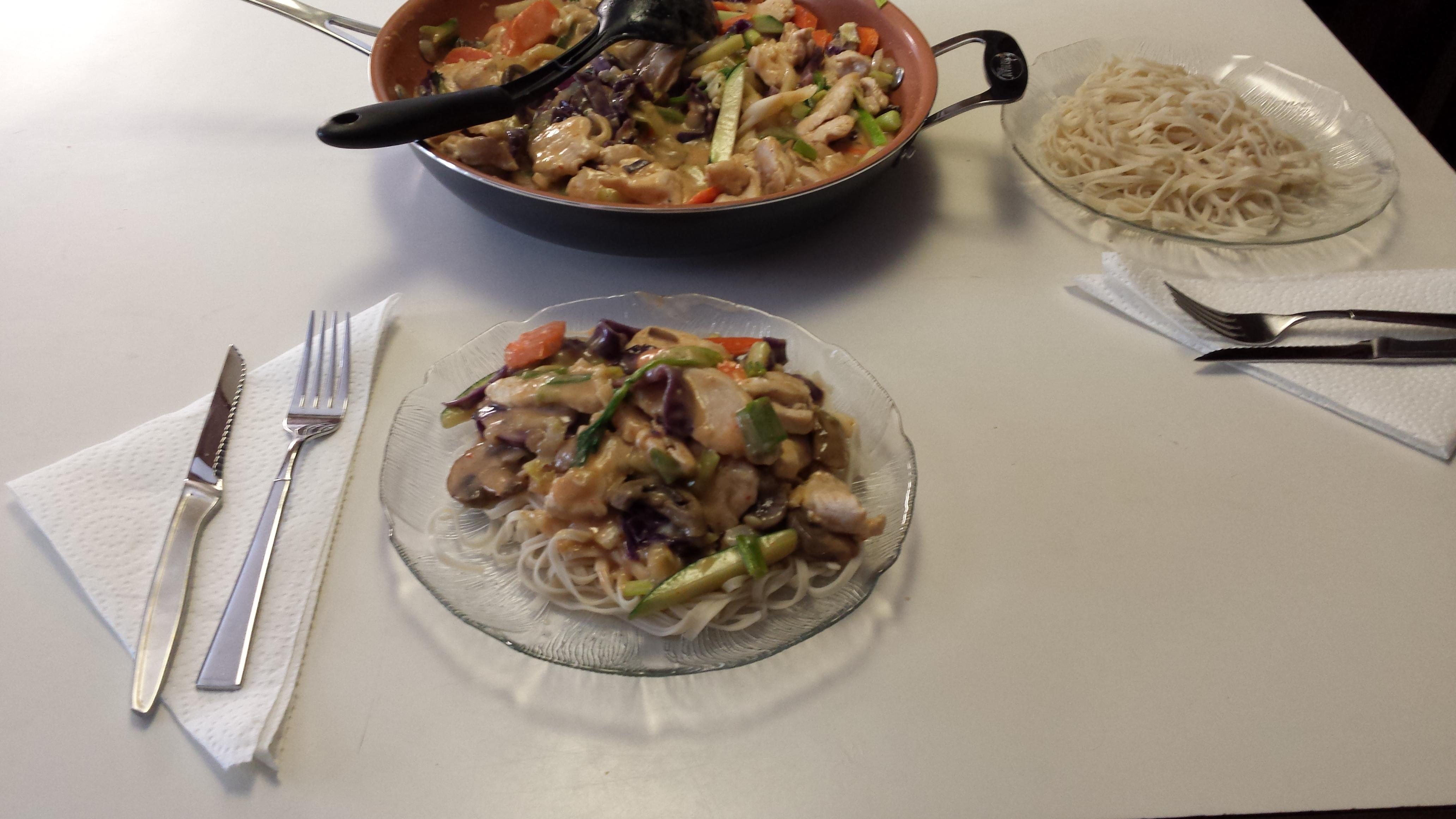 Thai Curry Chicken James