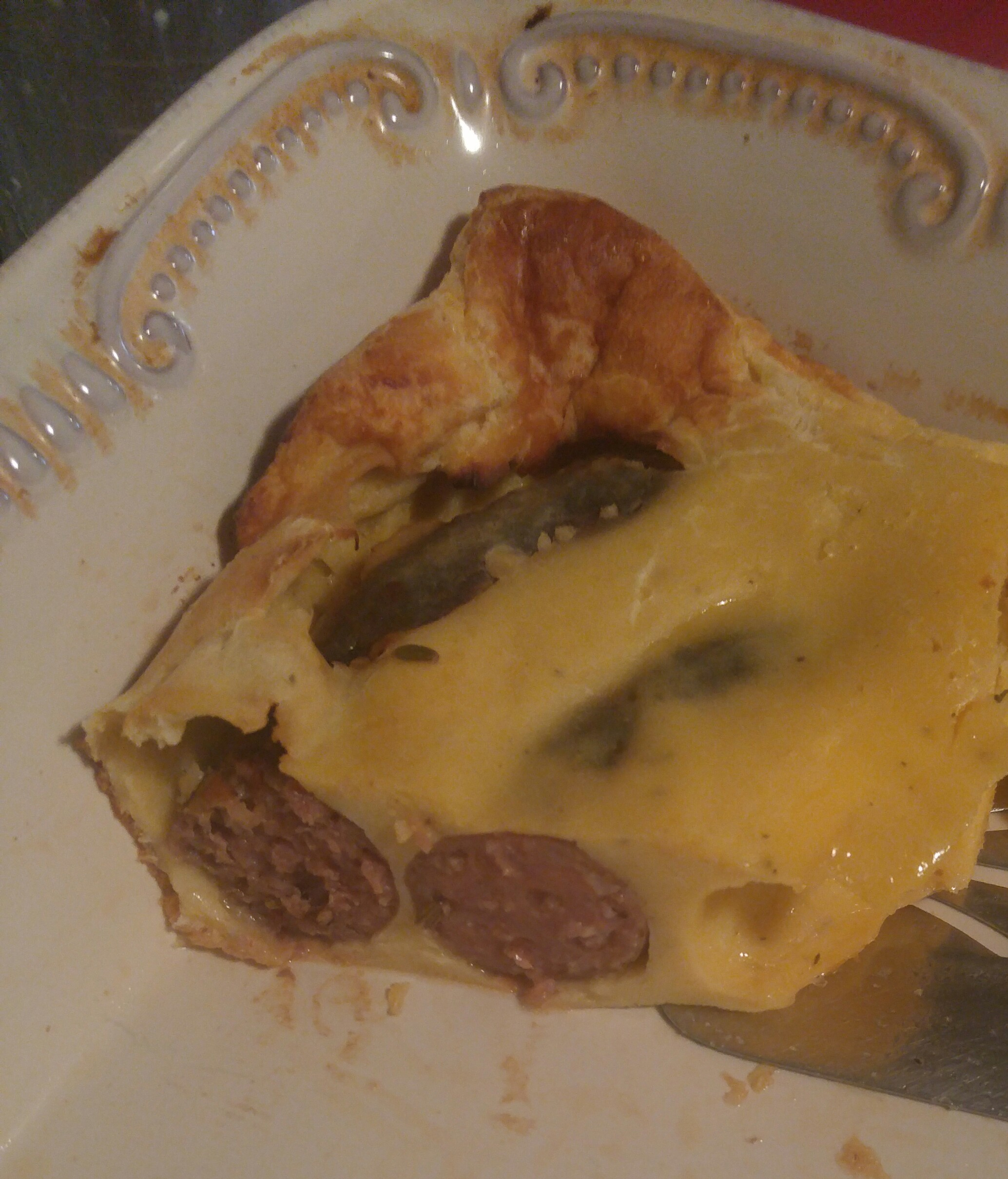 Savory Sausage Toad-in-the-Hole Christina J