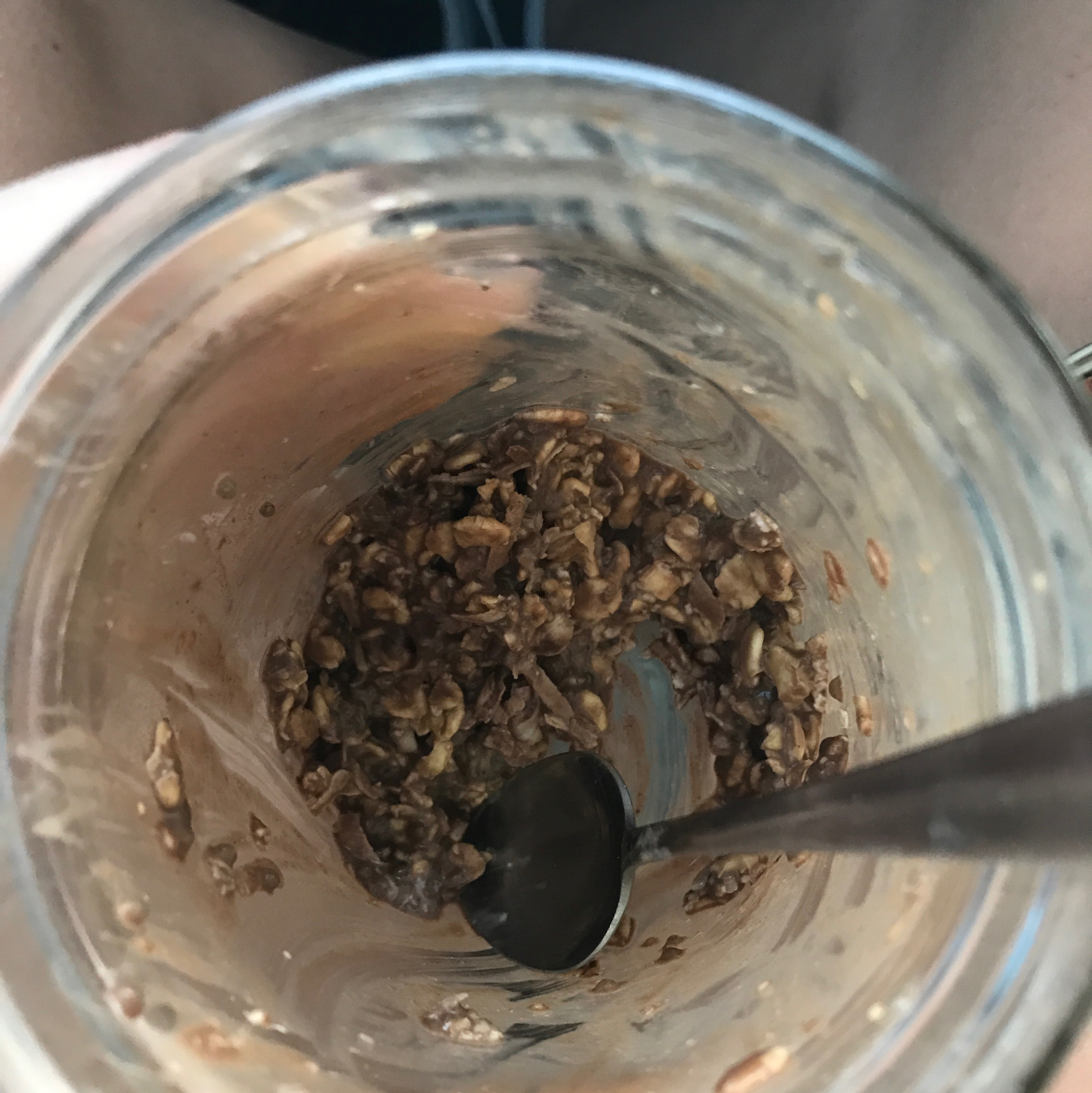 Chocolate Coconut Overnight Oats Kelly Huffer