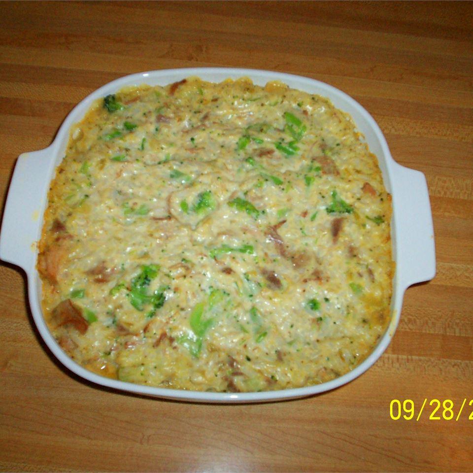 Pork, Broccoli and Rice Casserole Anonymous