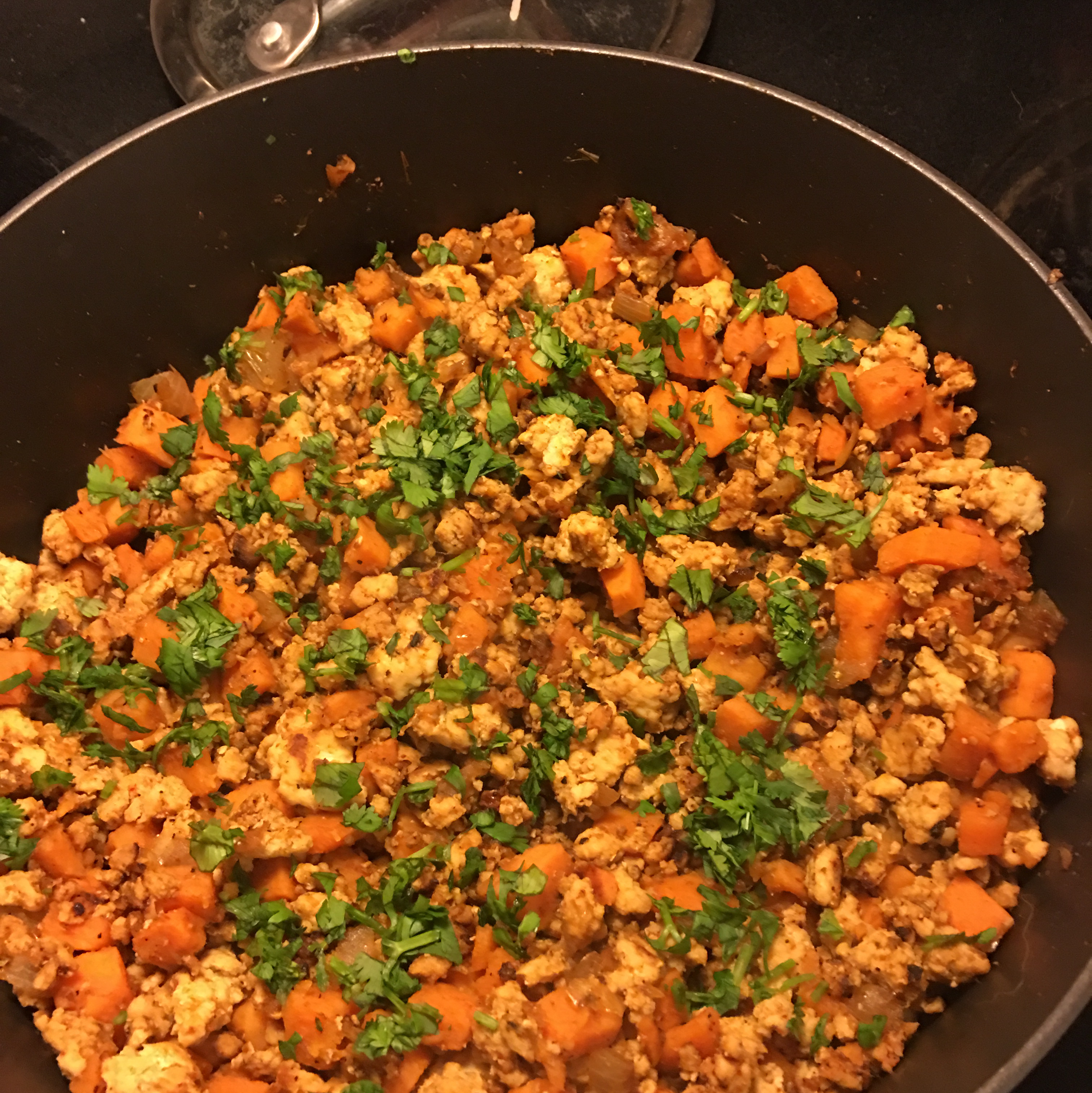 Turkey and Yam Spicy Tacos
